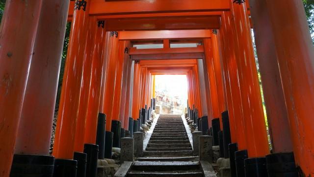 Fushimi-Inari Taisha 参道 稲荷山