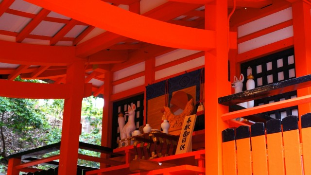 Kyoto Fushimi-Inari Taisha Shrine 奥社 伏見稲荷