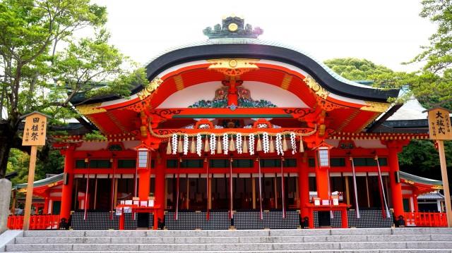 伏見稲荷大社の内拝殿
