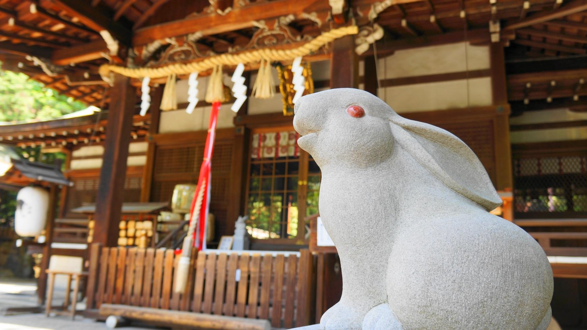 岡崎神社 うさぎの神社・方除厄除の神社