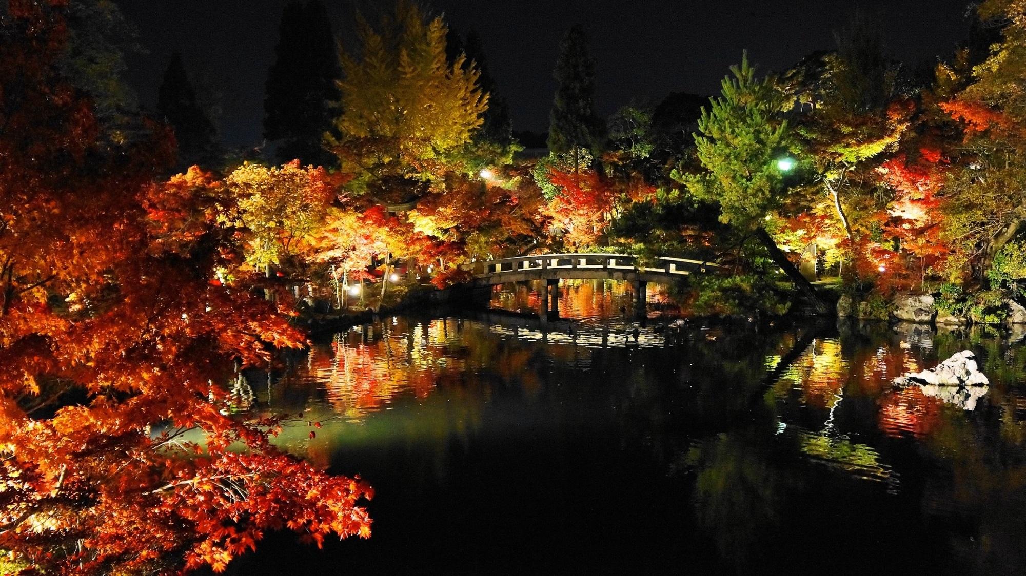 秋の超人気名所