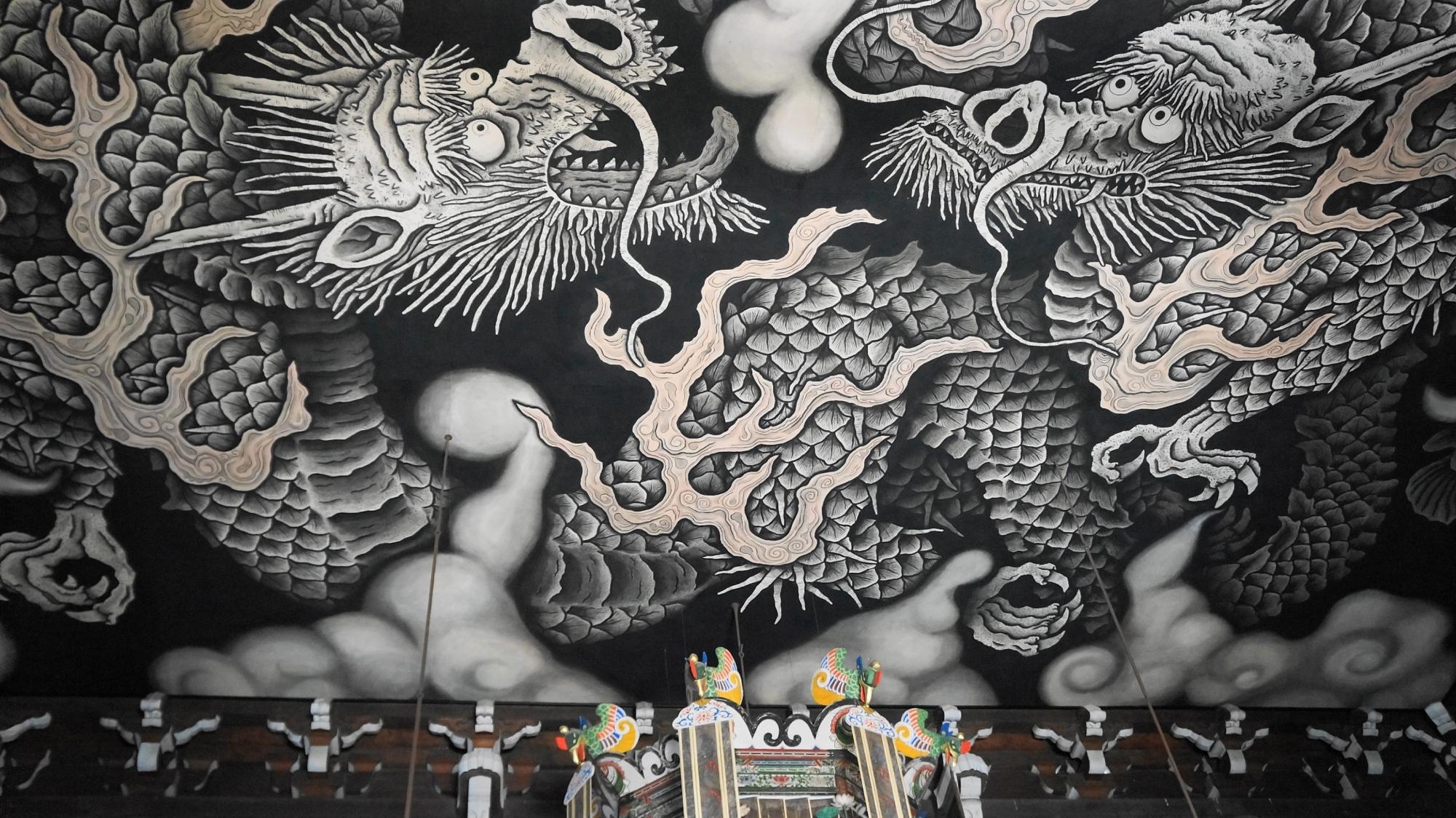 建仁寺 双龍図 法堂
