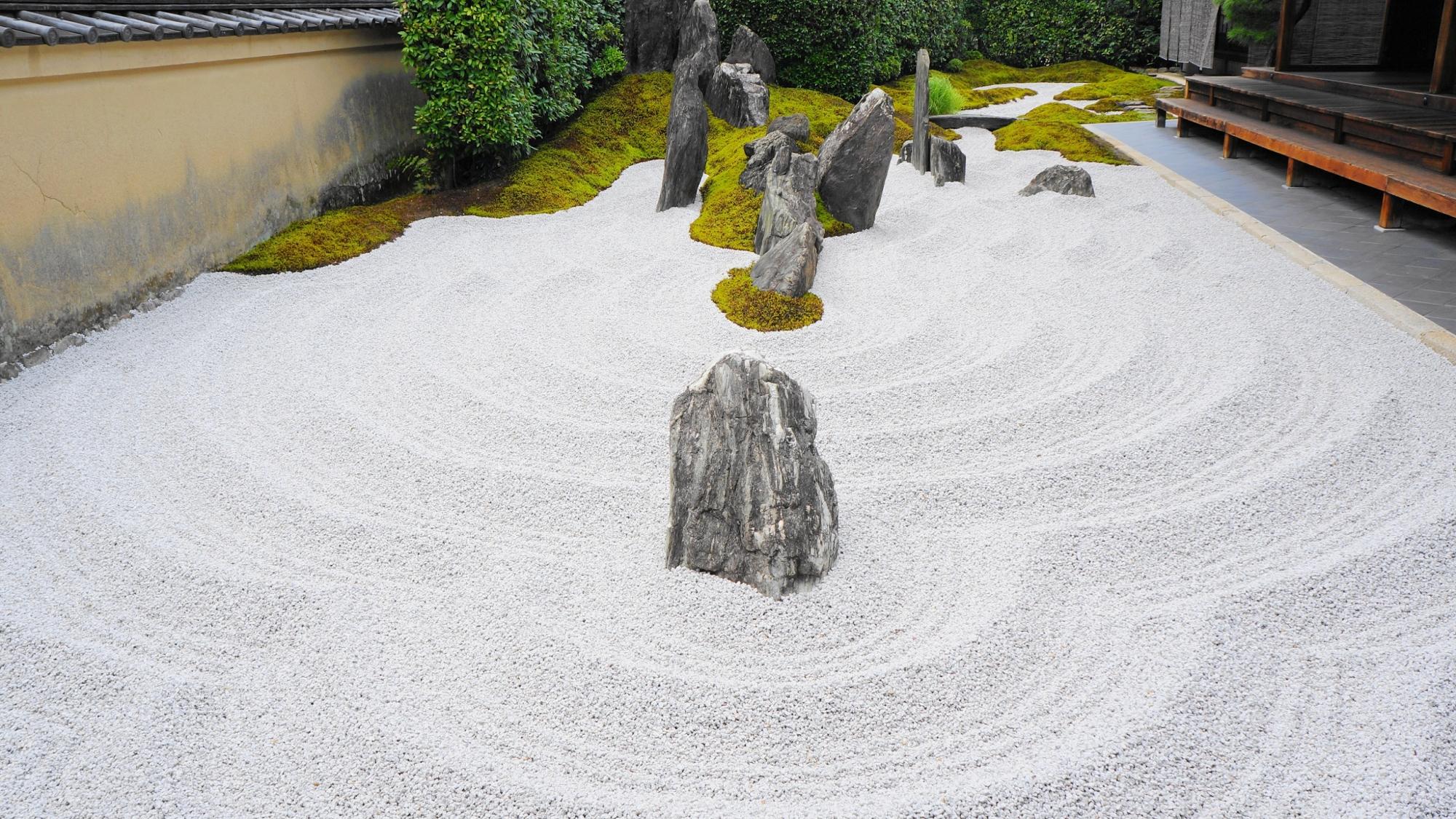 キリシタン大名の石庭