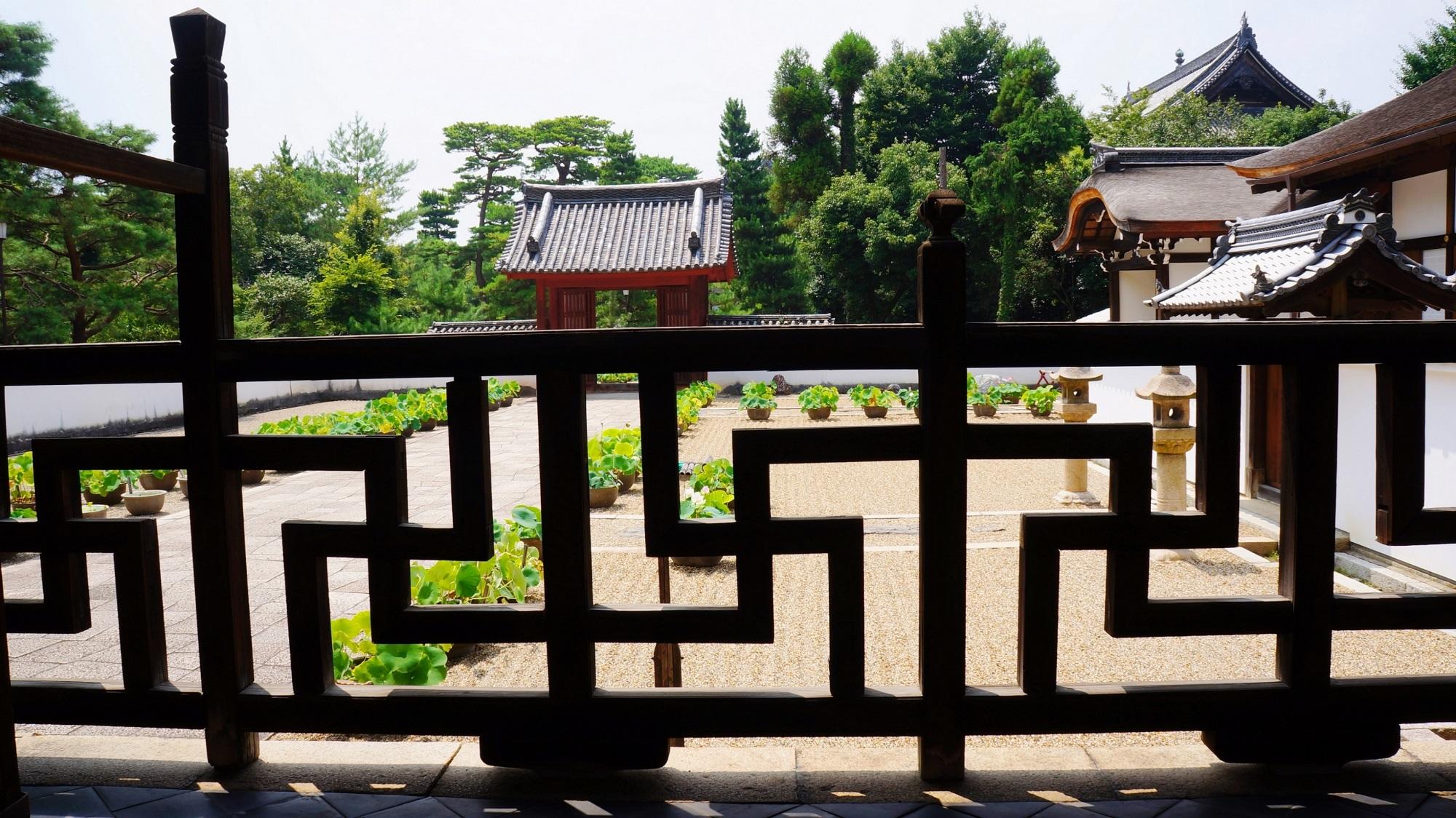京都 萬福寺 宇治黄檗山の中国風のお寺