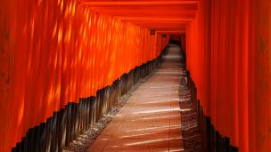Kyoto Fushimi-Inari Taisha Shrine 千本鳥居