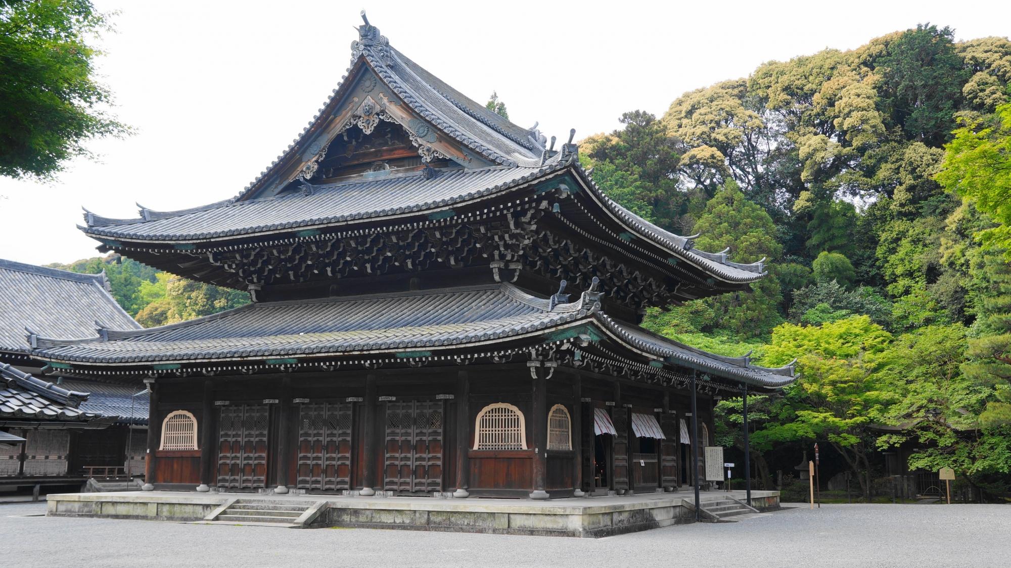 泉涌寺の仏殿