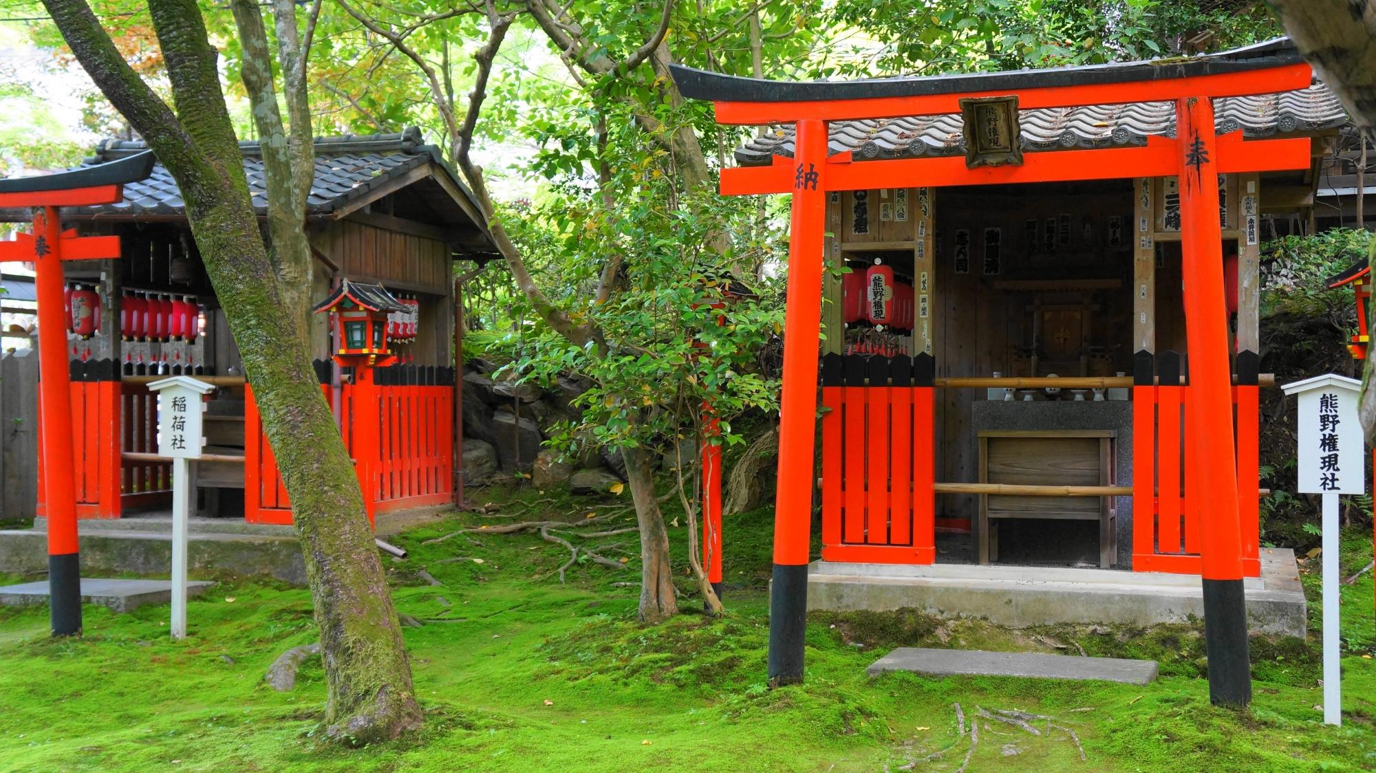 今熊野観音寺の末社