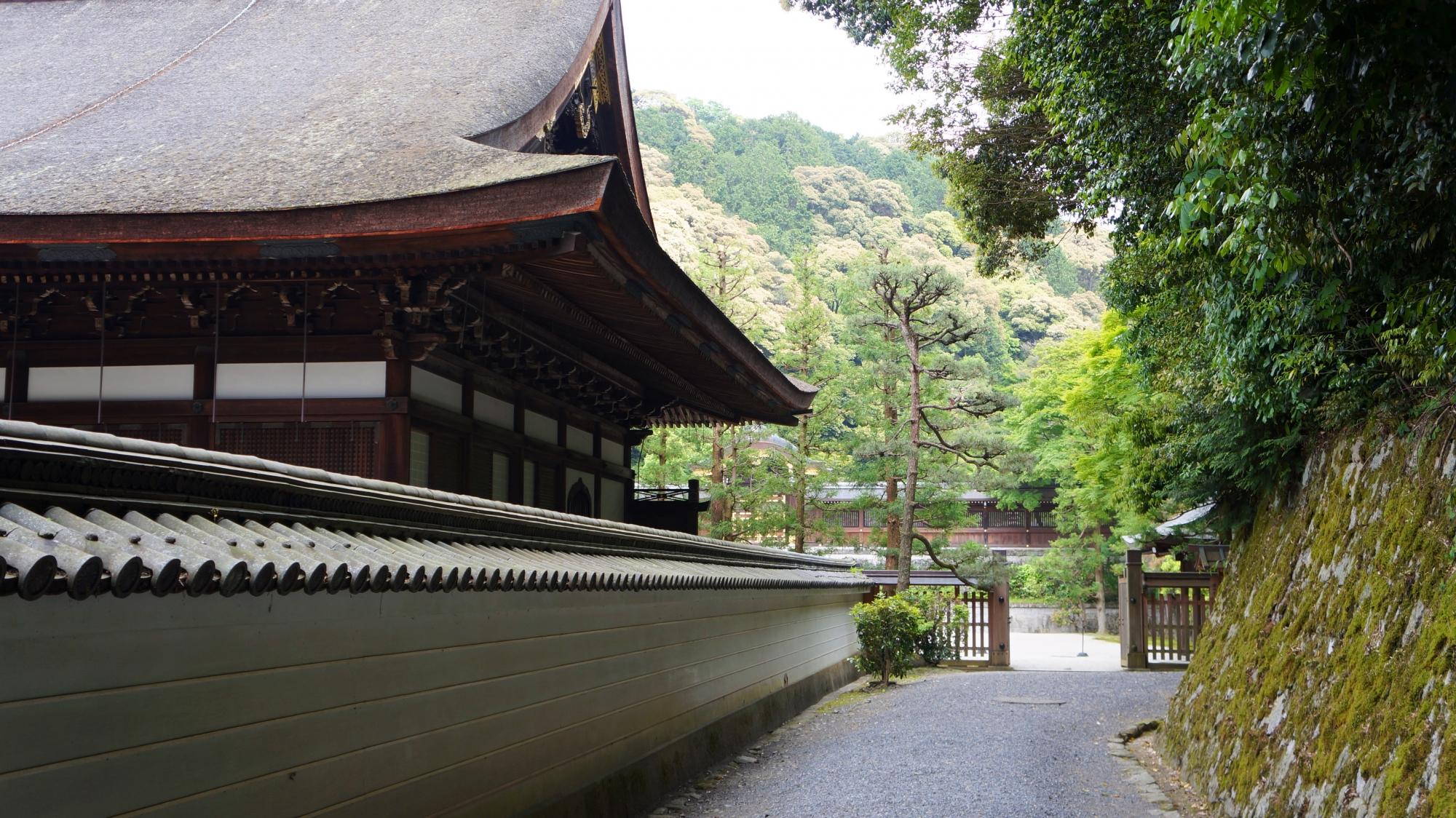 泉涌寺の月輪陵