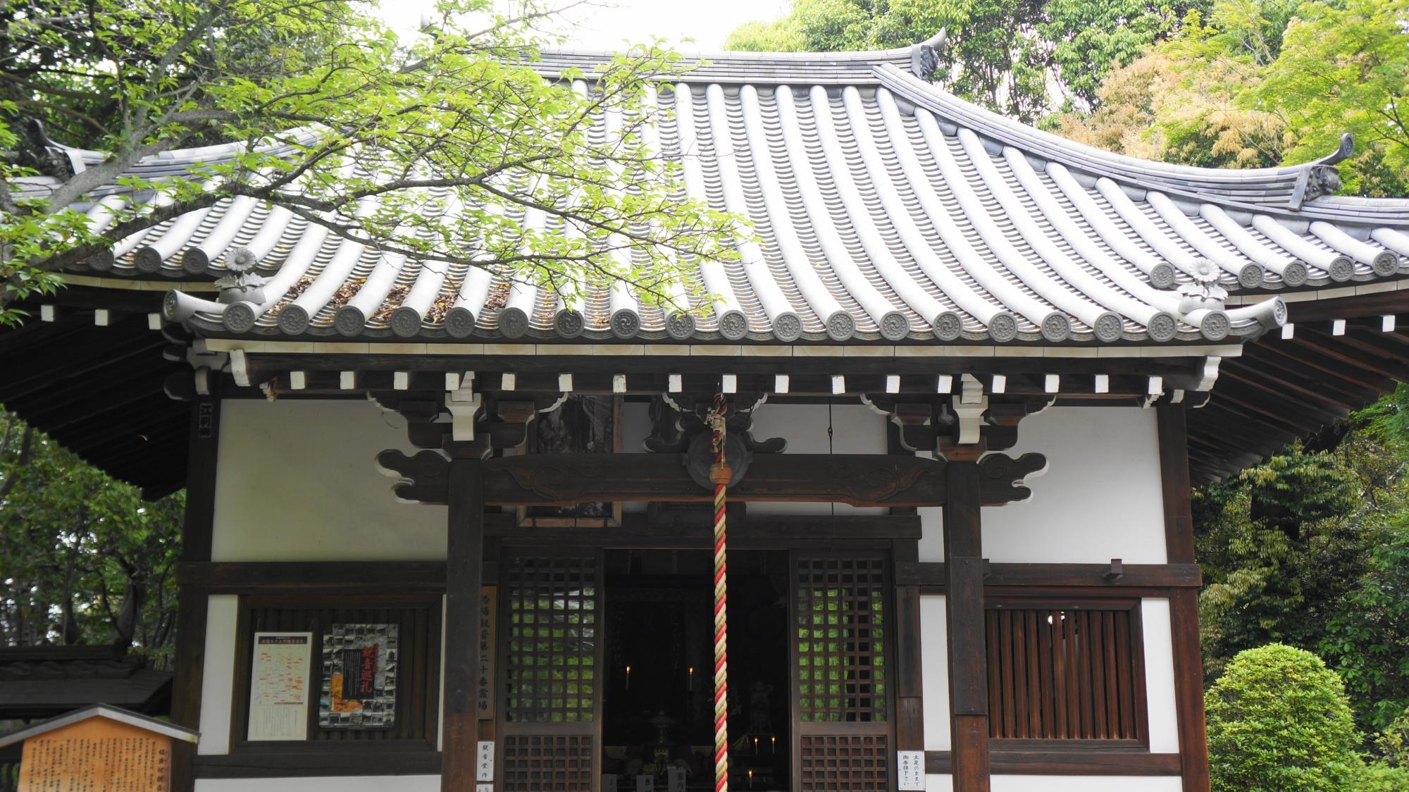 泉涌寺の楊貴妃観音殿
