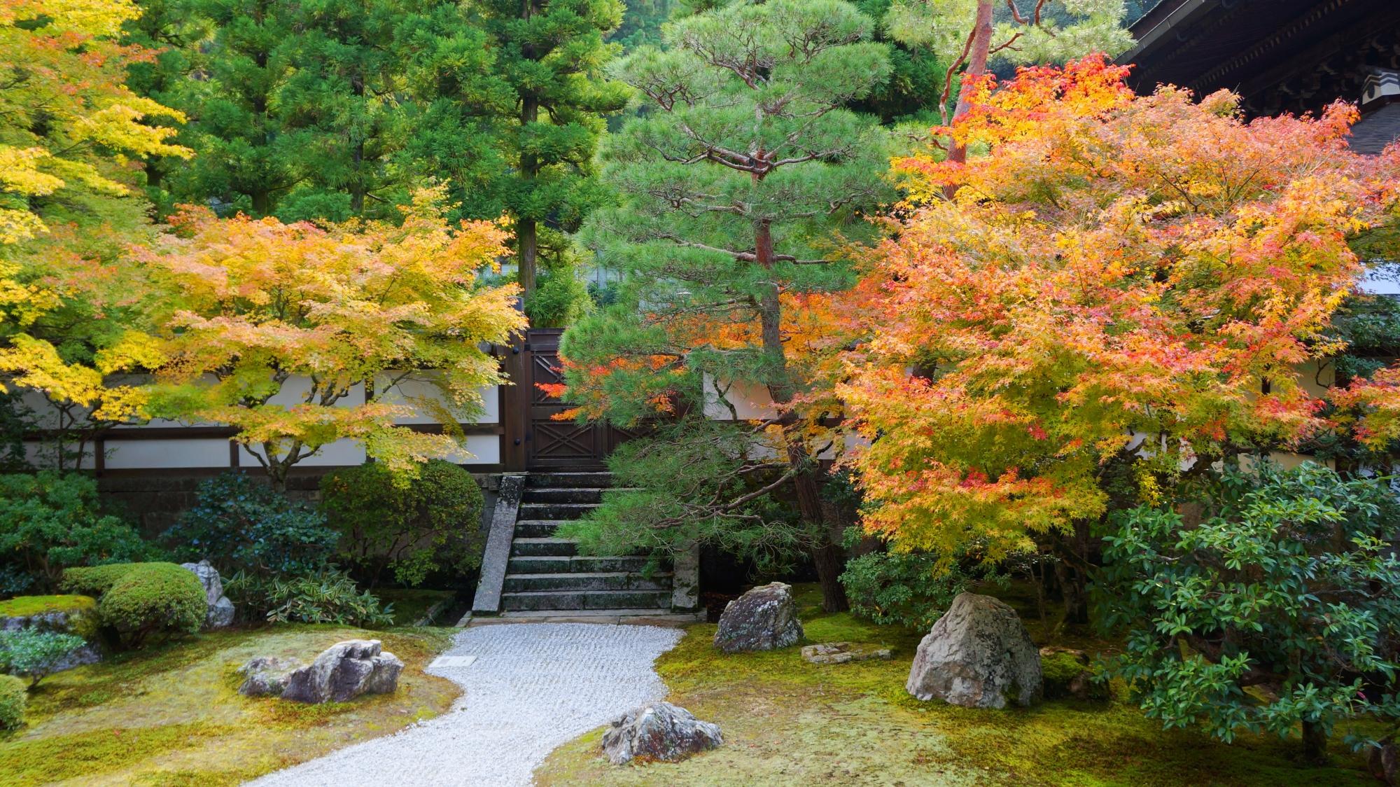 泉涌寺の御座所の庭(ござしょのにわ)