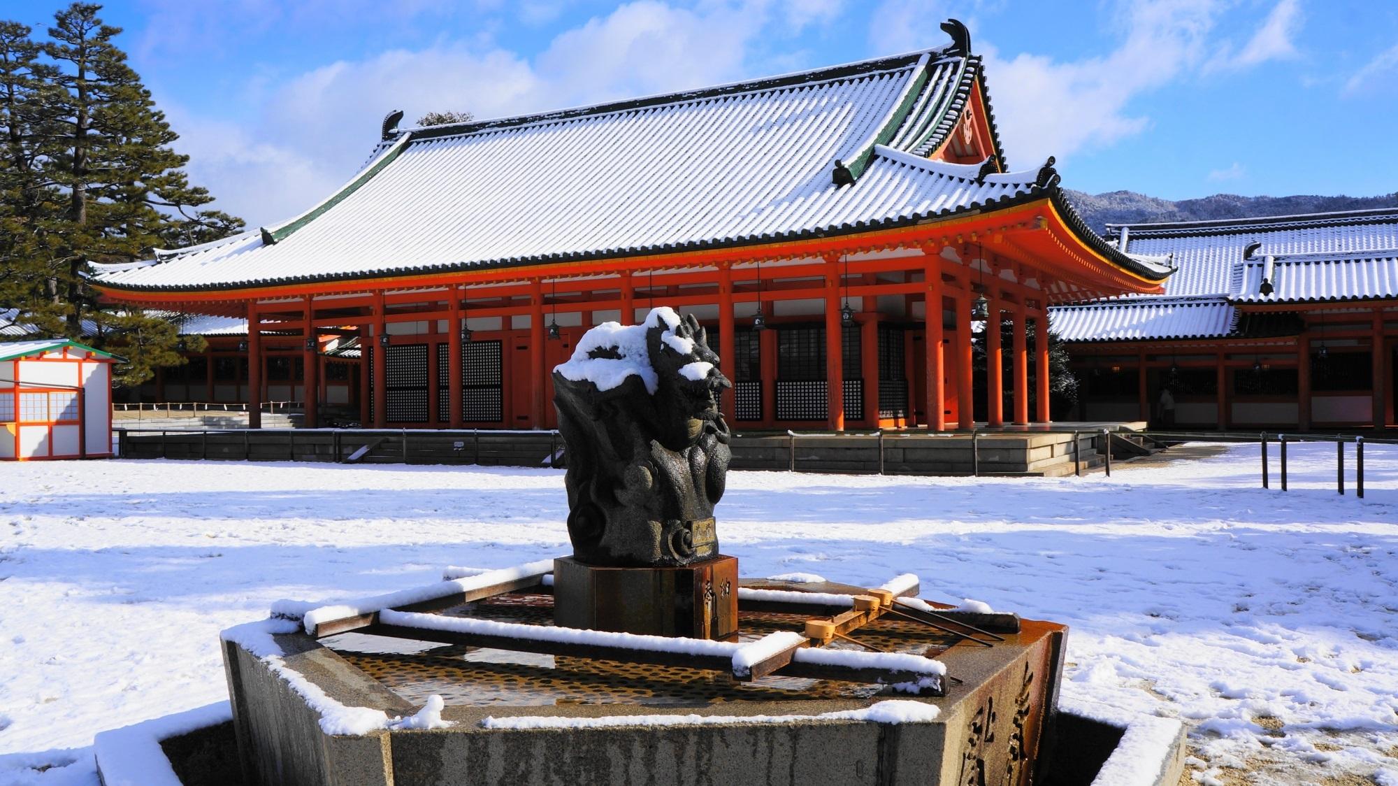 神聖なる冬景色
