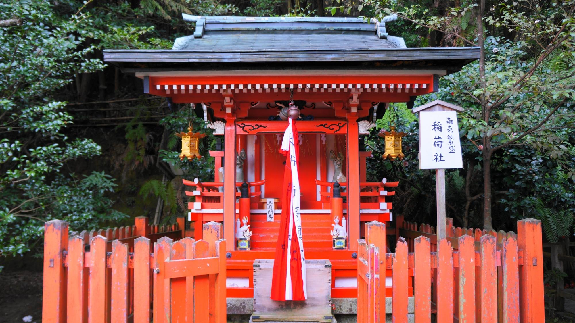 大豊神社の稲荷社