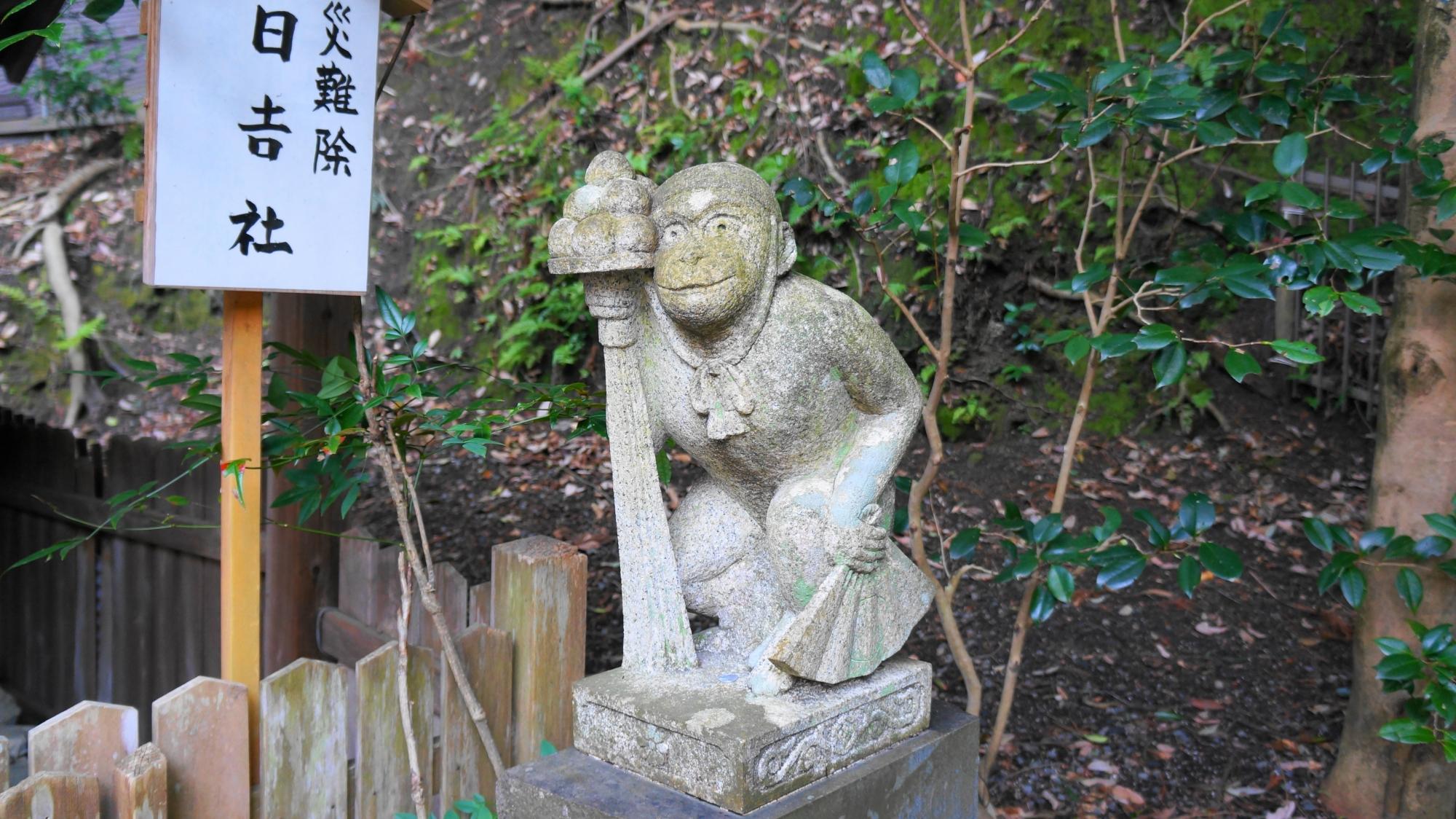 狛猿と日吉社