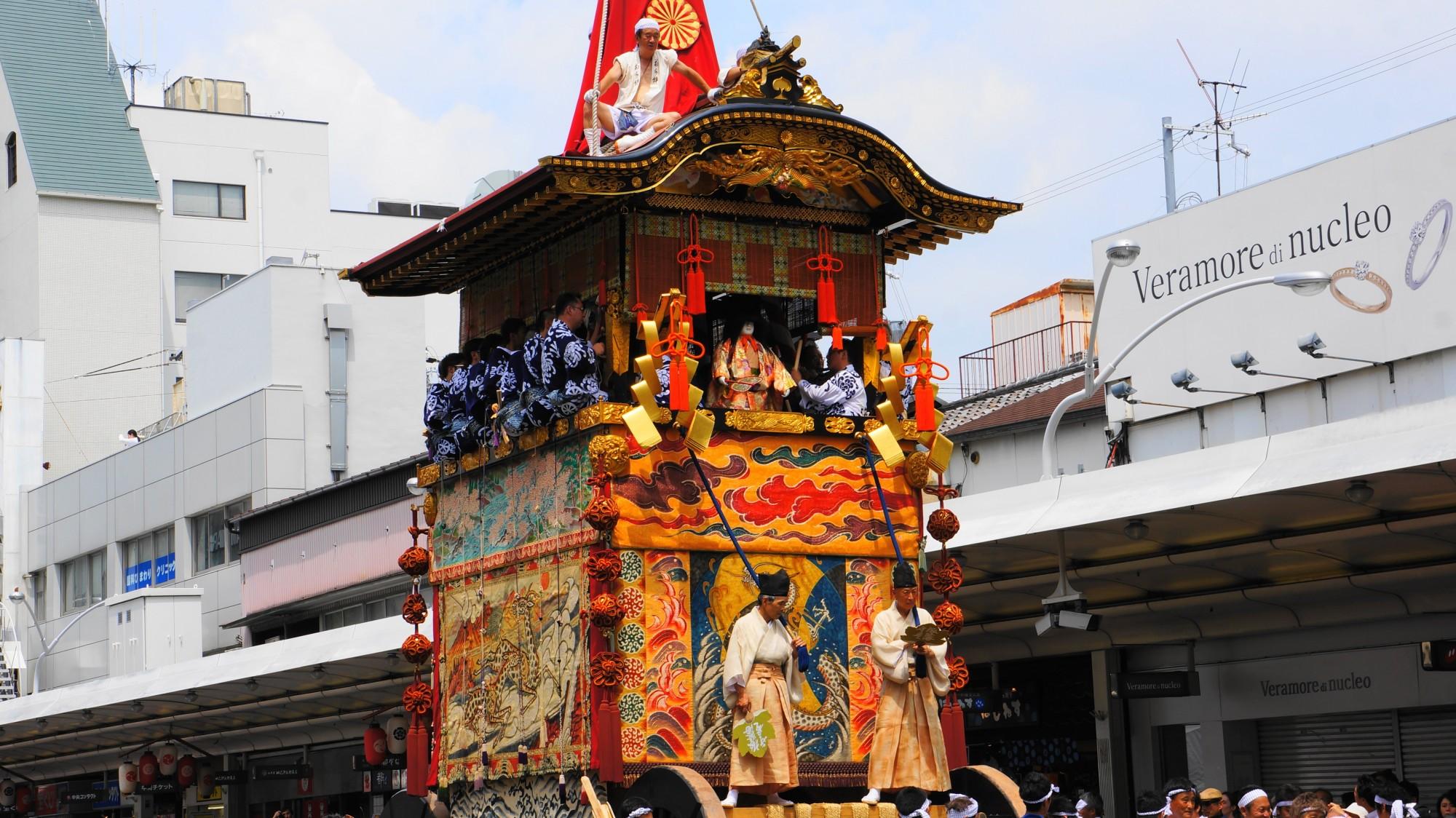 京都 祇園祭 前祭 山鉾巡行 全種類の山鉾