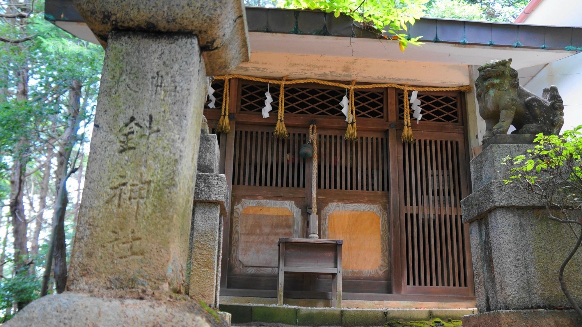 針神社と幡枝八幡宮