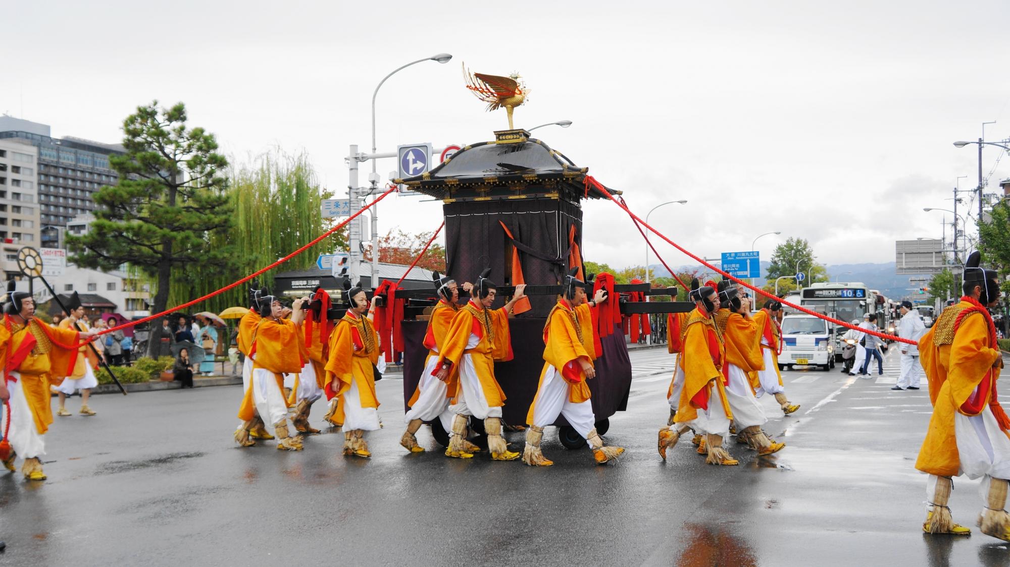 京都三大祭 時代祭 雅な行列