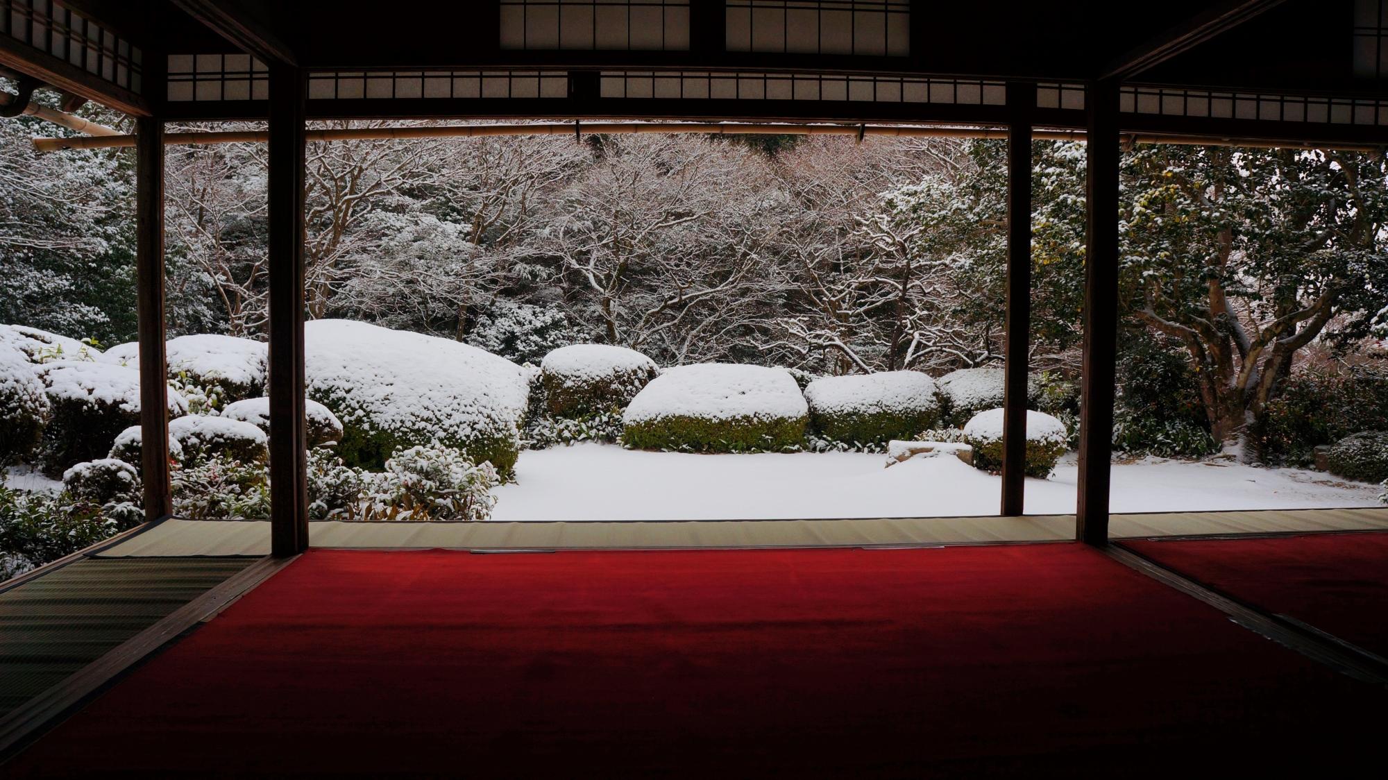 猟芸巣(りょうげいそう)の雪景色