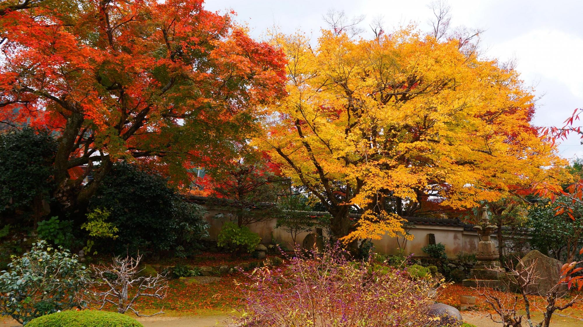 旧理覚院庭園の紅葉