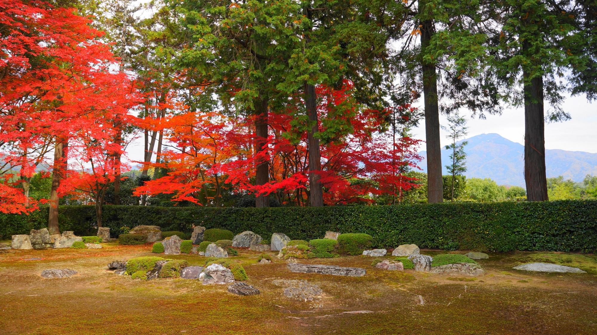 円通寺の素晴らしい紅葉と情景