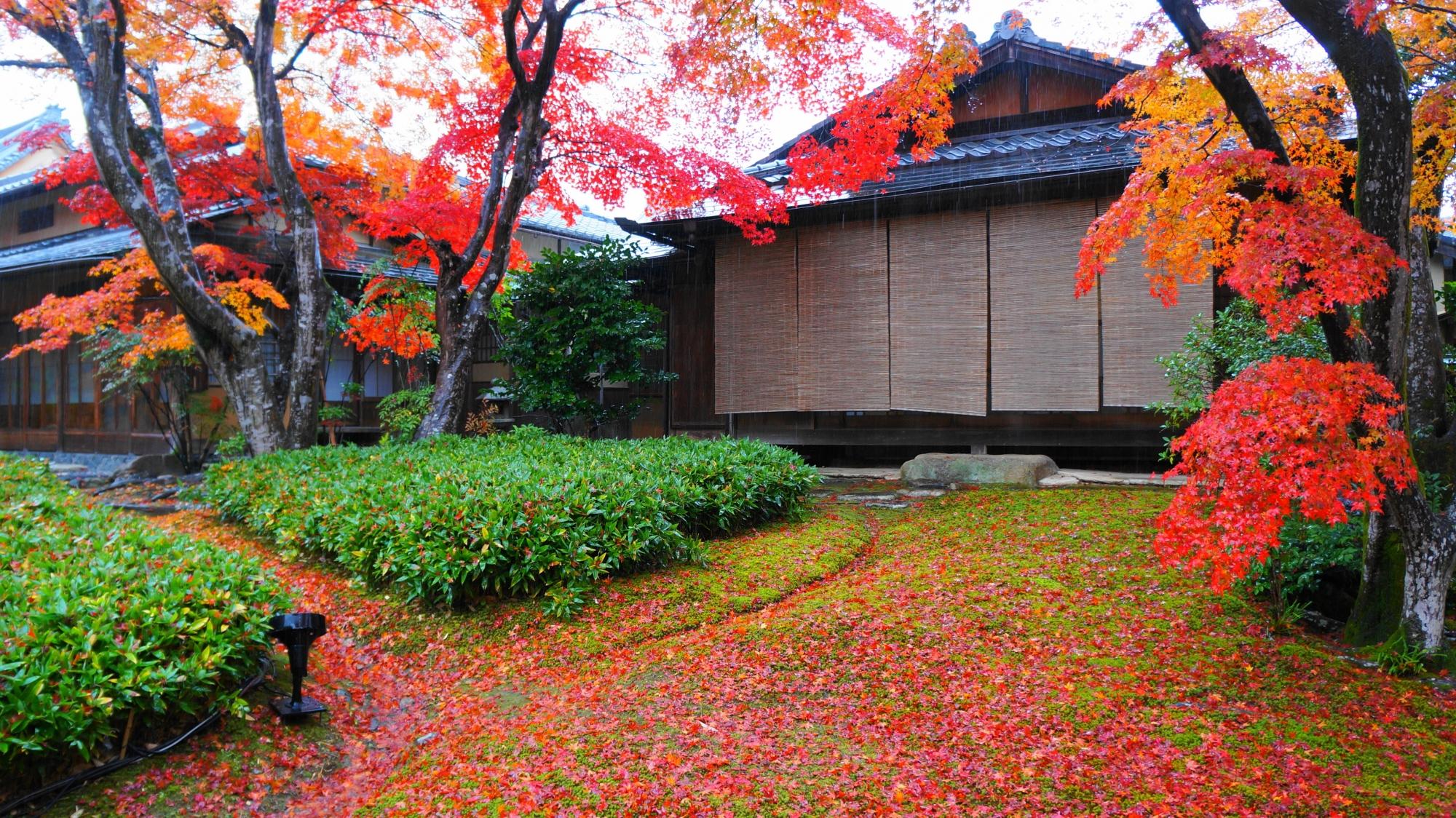 宝厳院の風情と美しさが融合した庭園