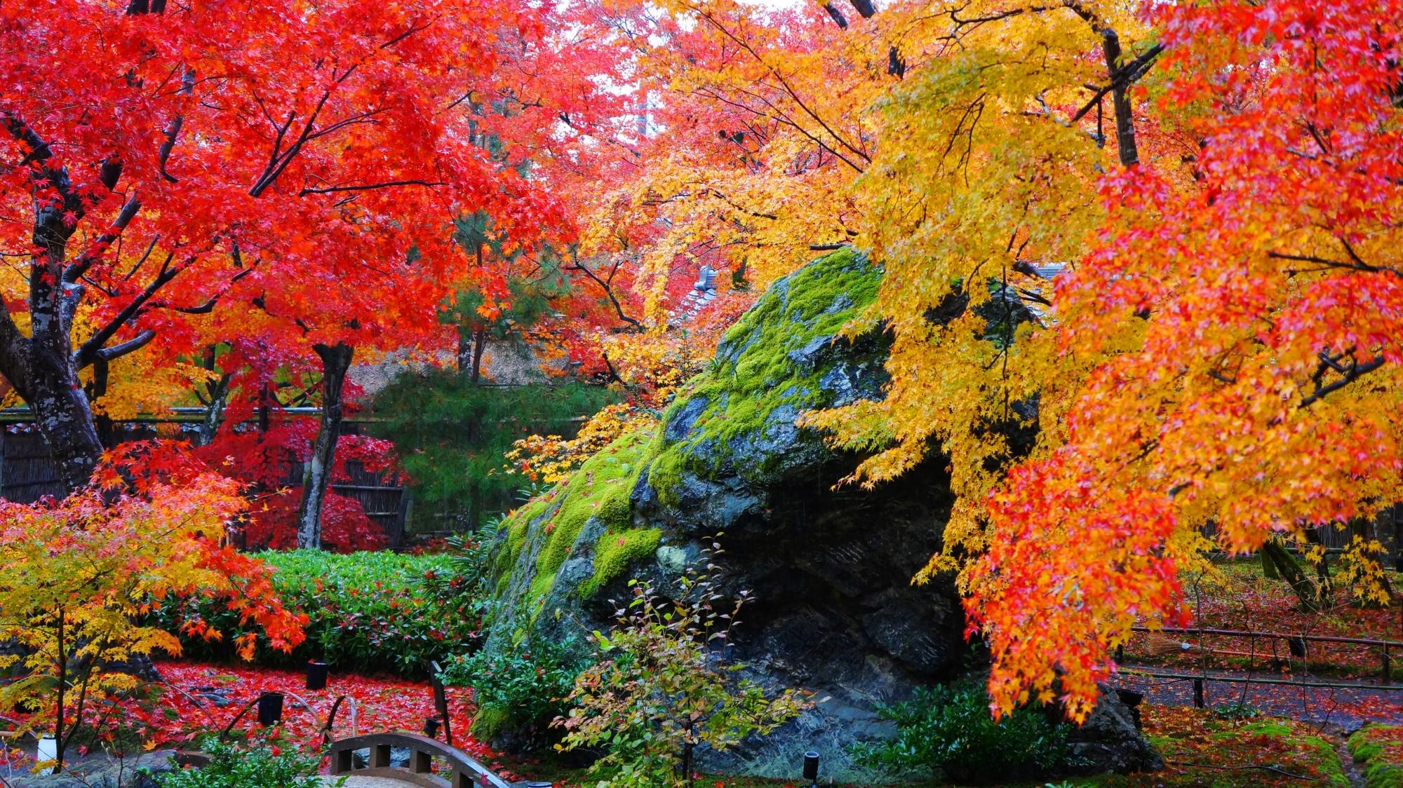 獅子吼の庭の一番人気の獅子岩