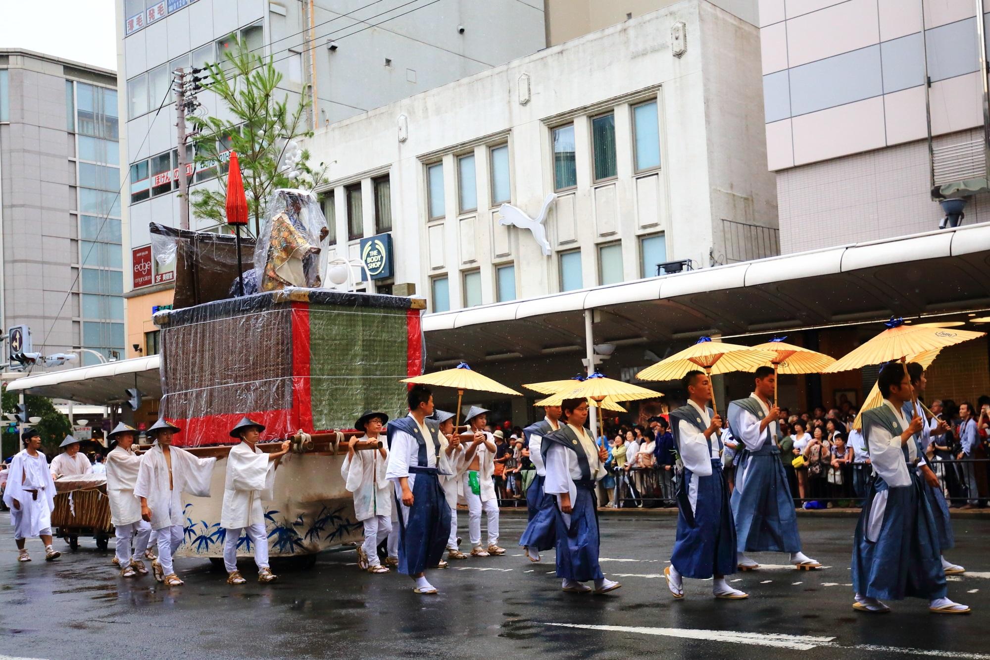 祇園祭の山鉾巡行の孟宗山