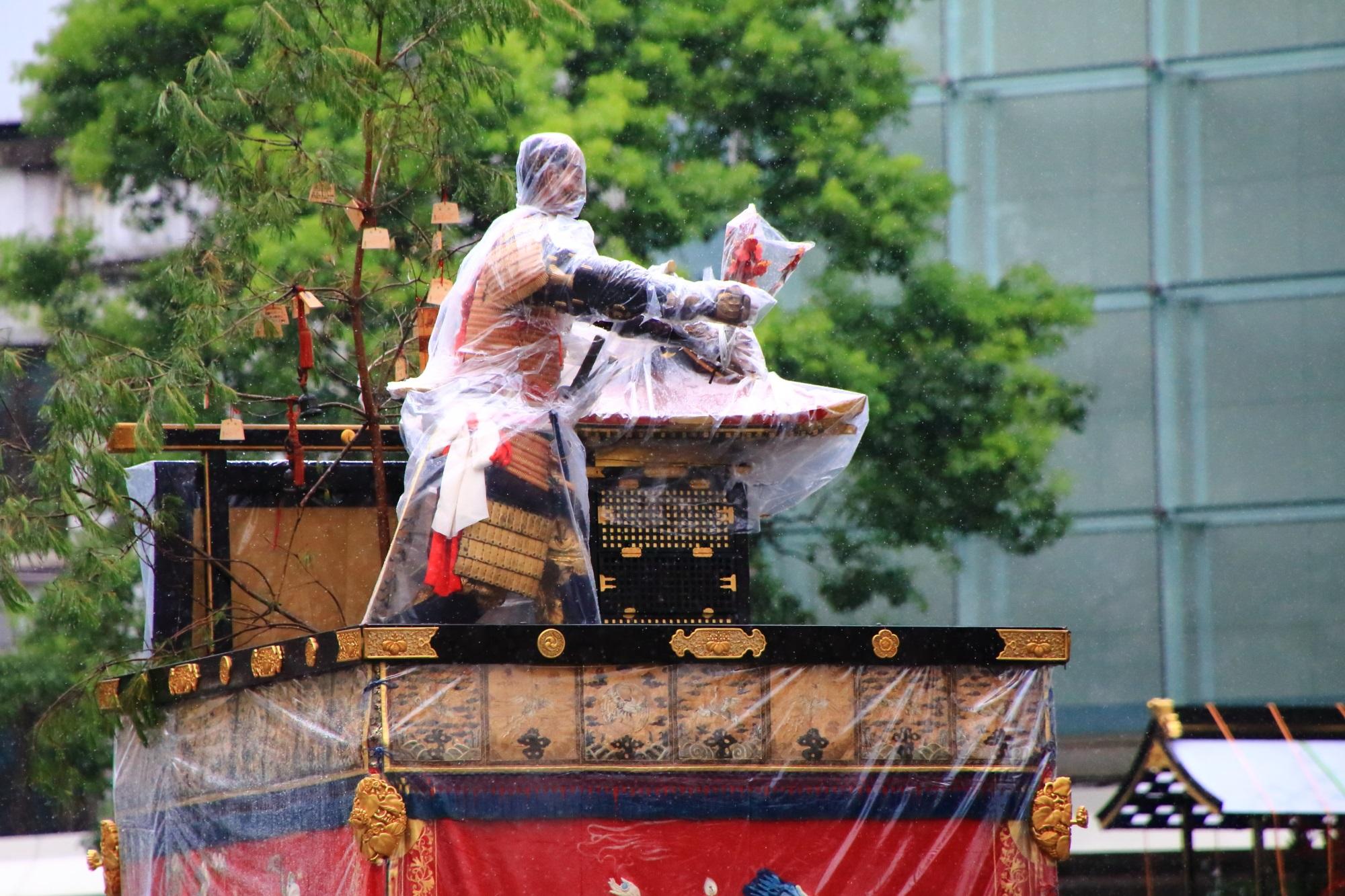 祇園祭山鉾巡行の保昌山(ほうしょうやま)