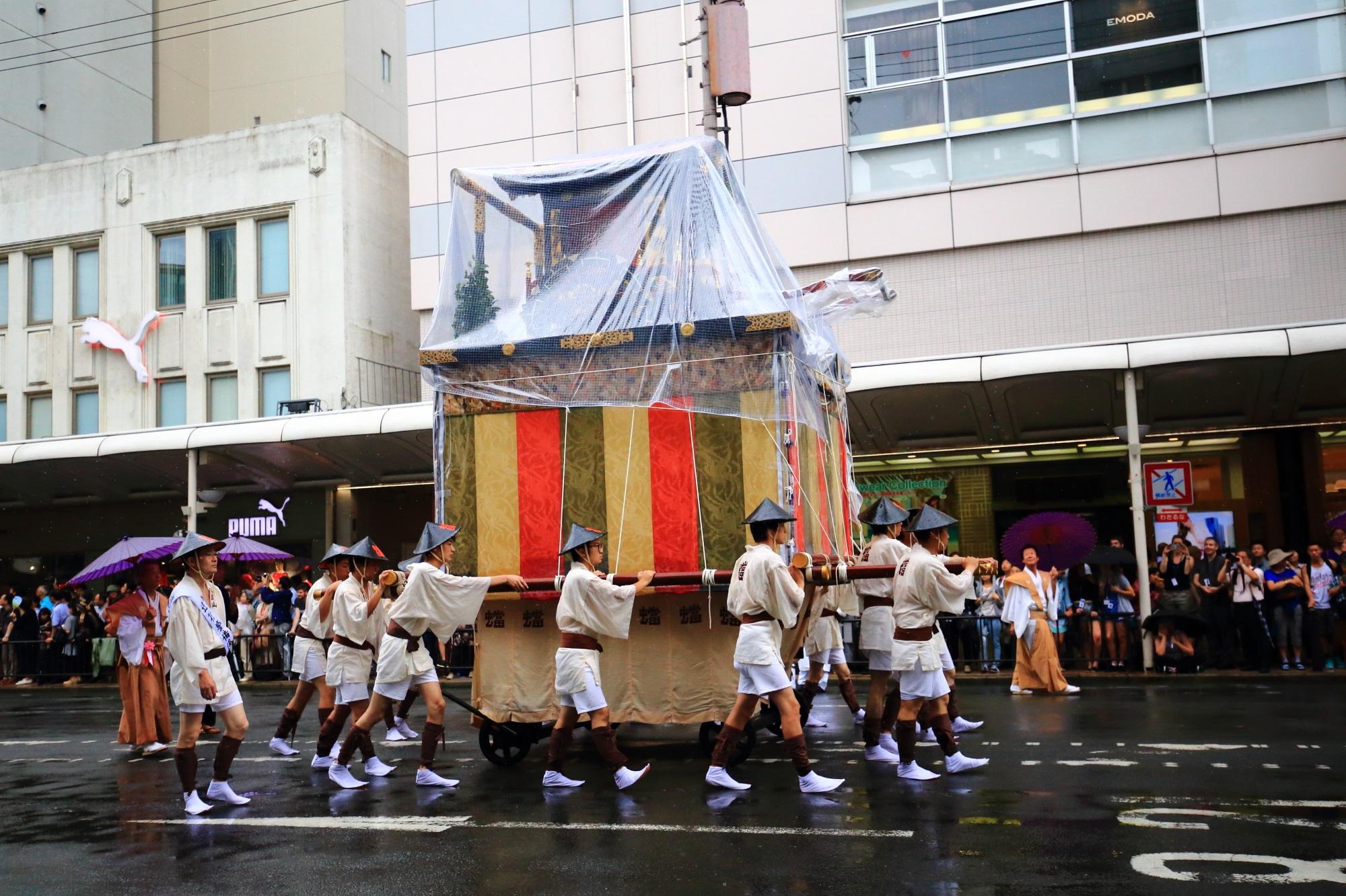 祇園祭山鉾巡行の蟷螂山(とうろうやま)