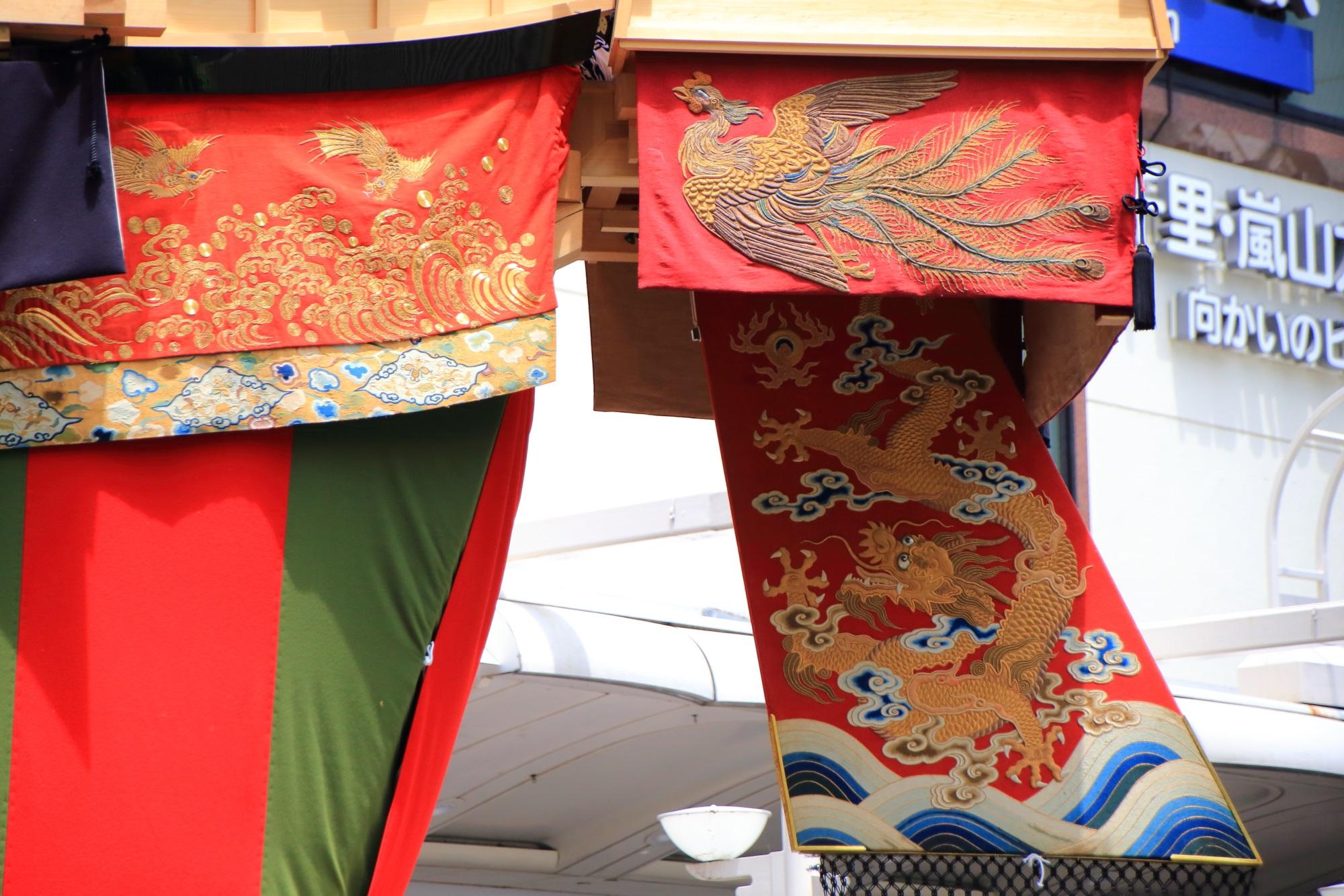 祇園祭後祭の山鉾巡行の大船鉾(おおふねほこ)