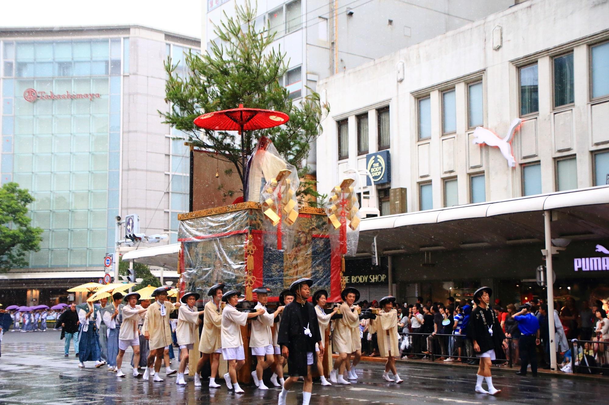 祇園祭山鉾巡行の白楽天山(はくらくてんやま)