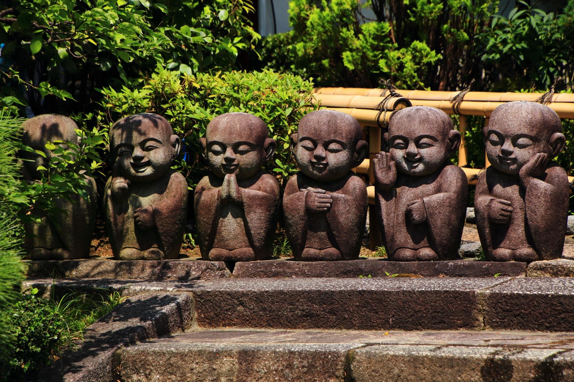 東福寺の塔頭寺院の小さく可愛いお地蔵さん