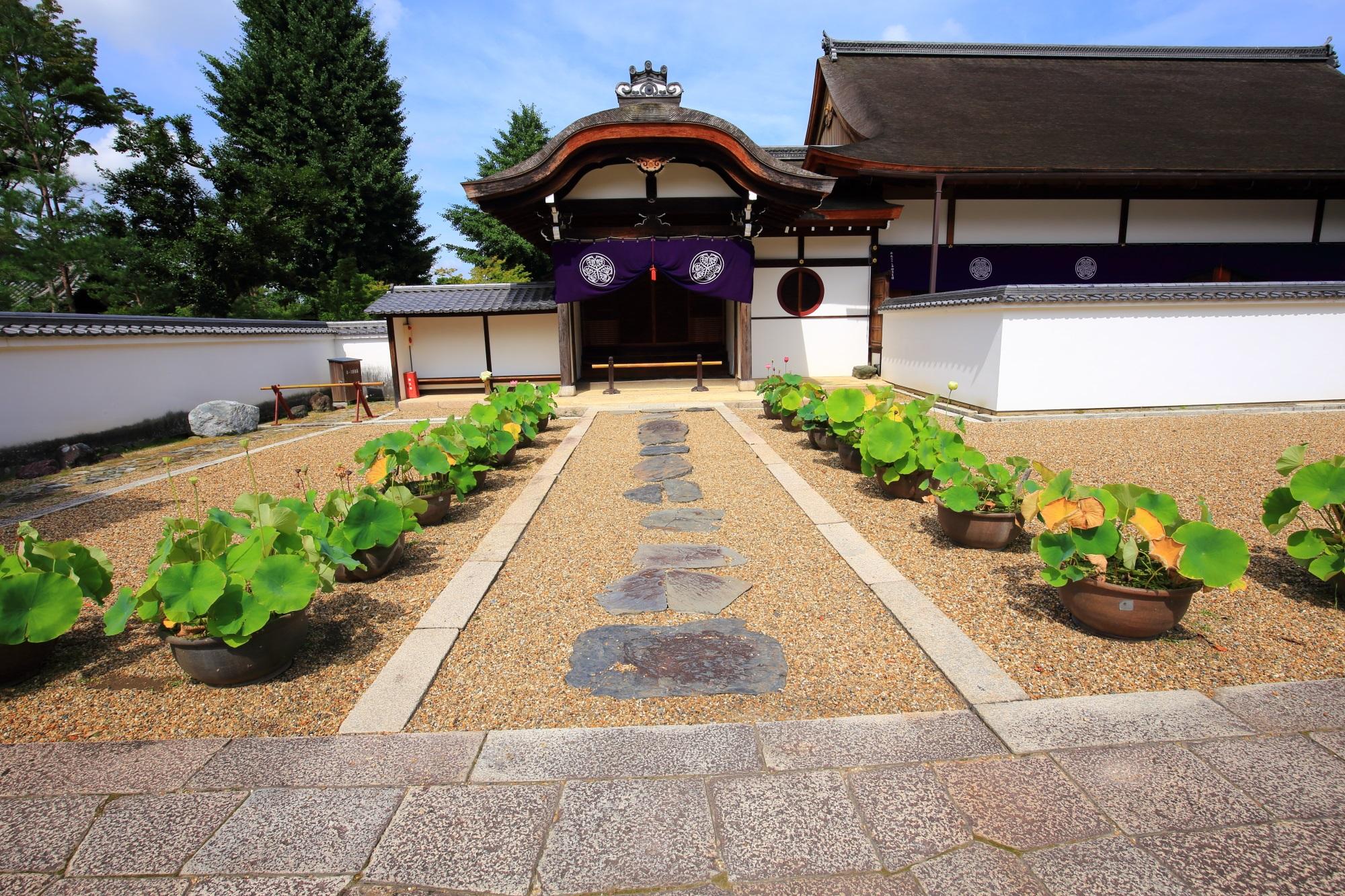 萬福寺の開山堂横にある松隠堂