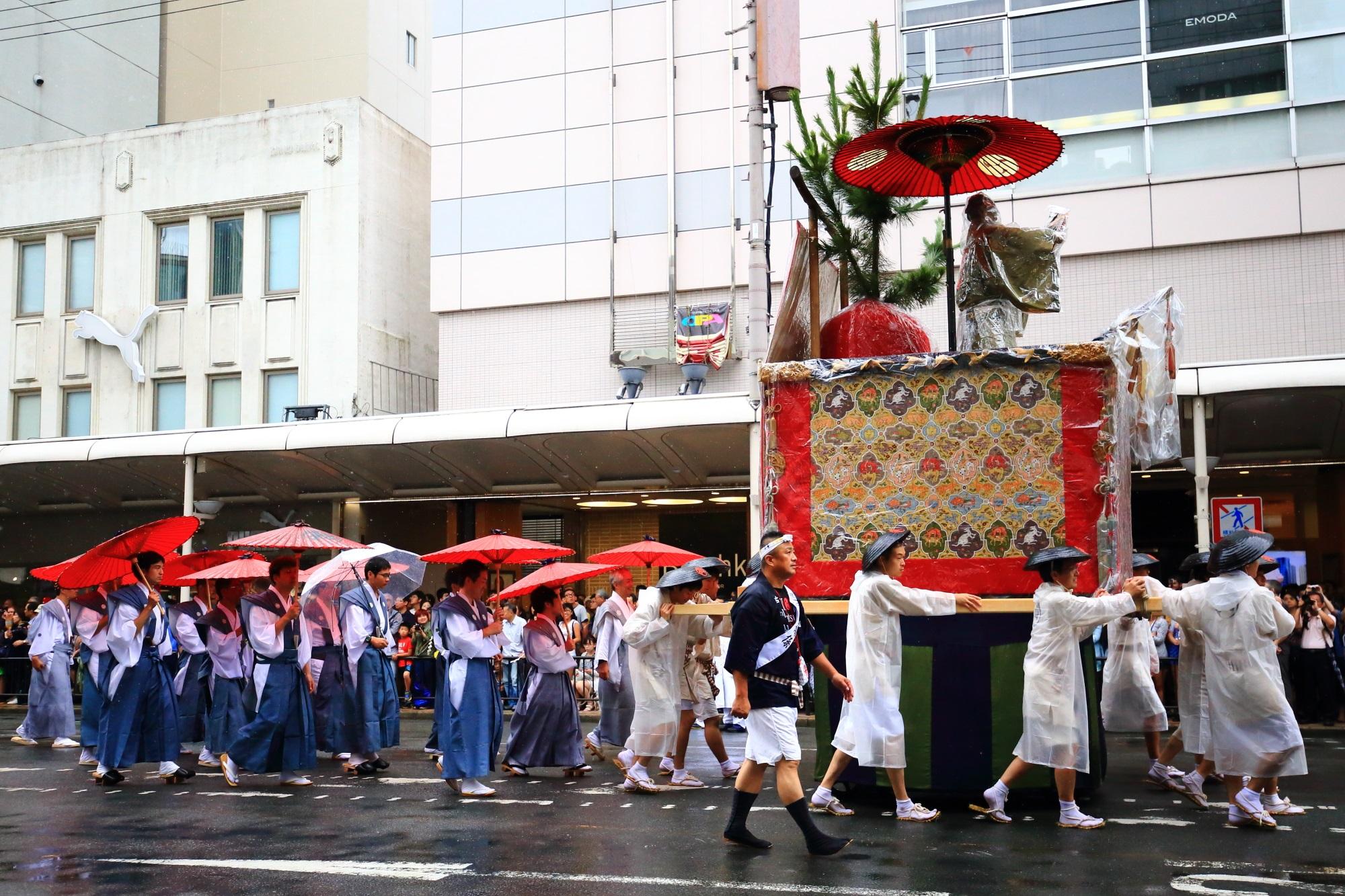 祇園祭の山鉾巡行の芦刈山