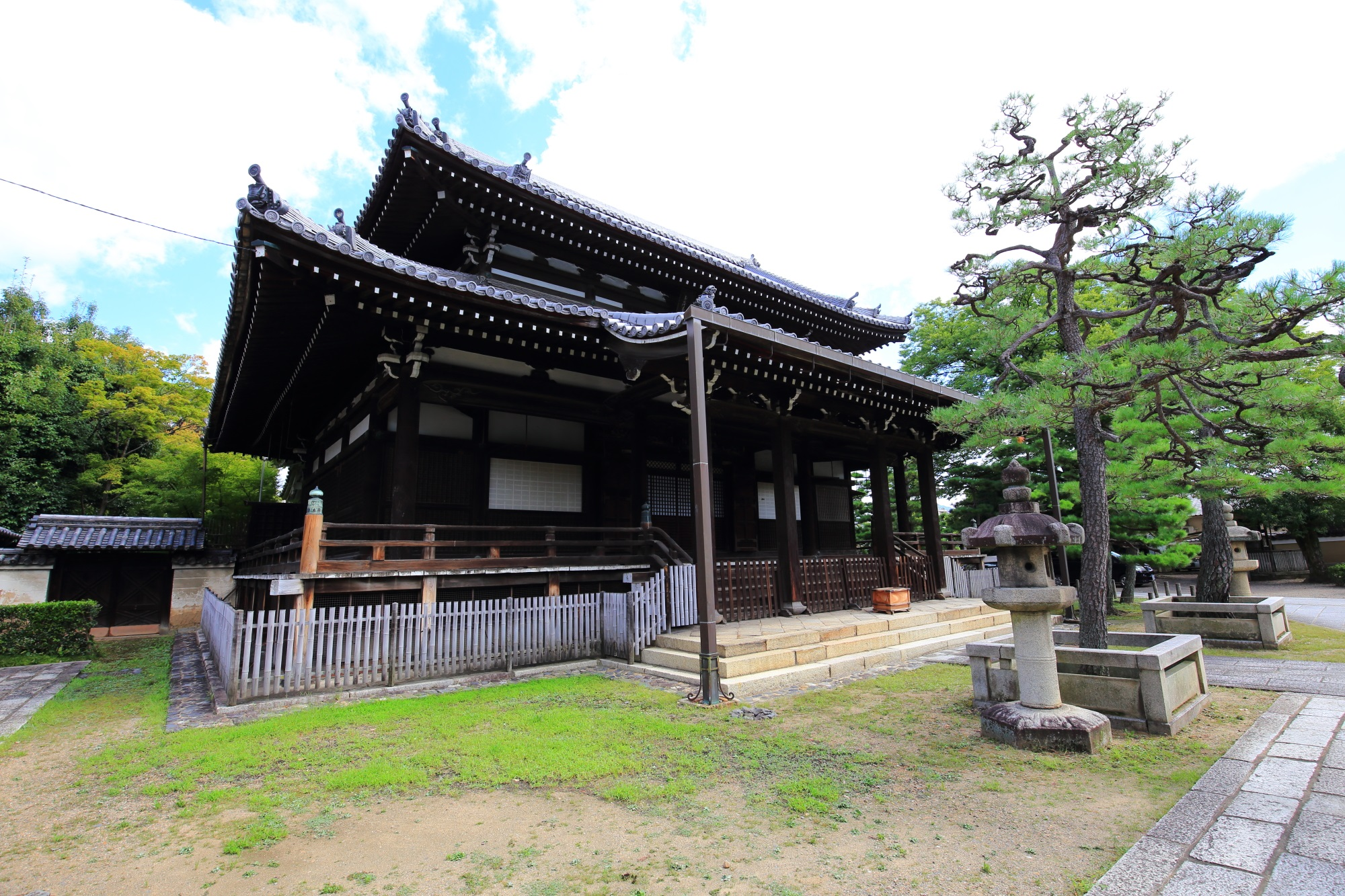 浄福寺 本堂 2015年8月