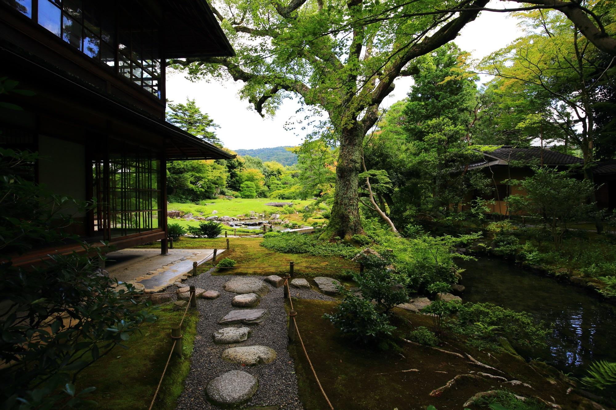 無鄰菴(むりんあん)の池泉回遊式庭園