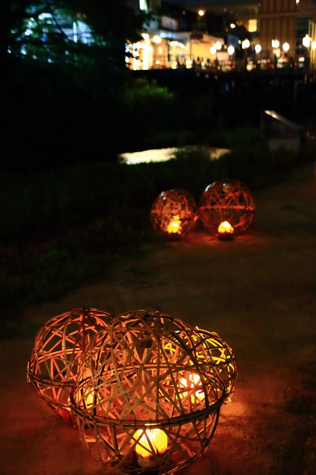 Kyo-no-Tanabata Kamo-Gawa River 風鈴灯 きょうのたなばた