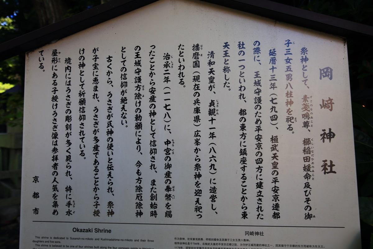 岡崎神社の説明