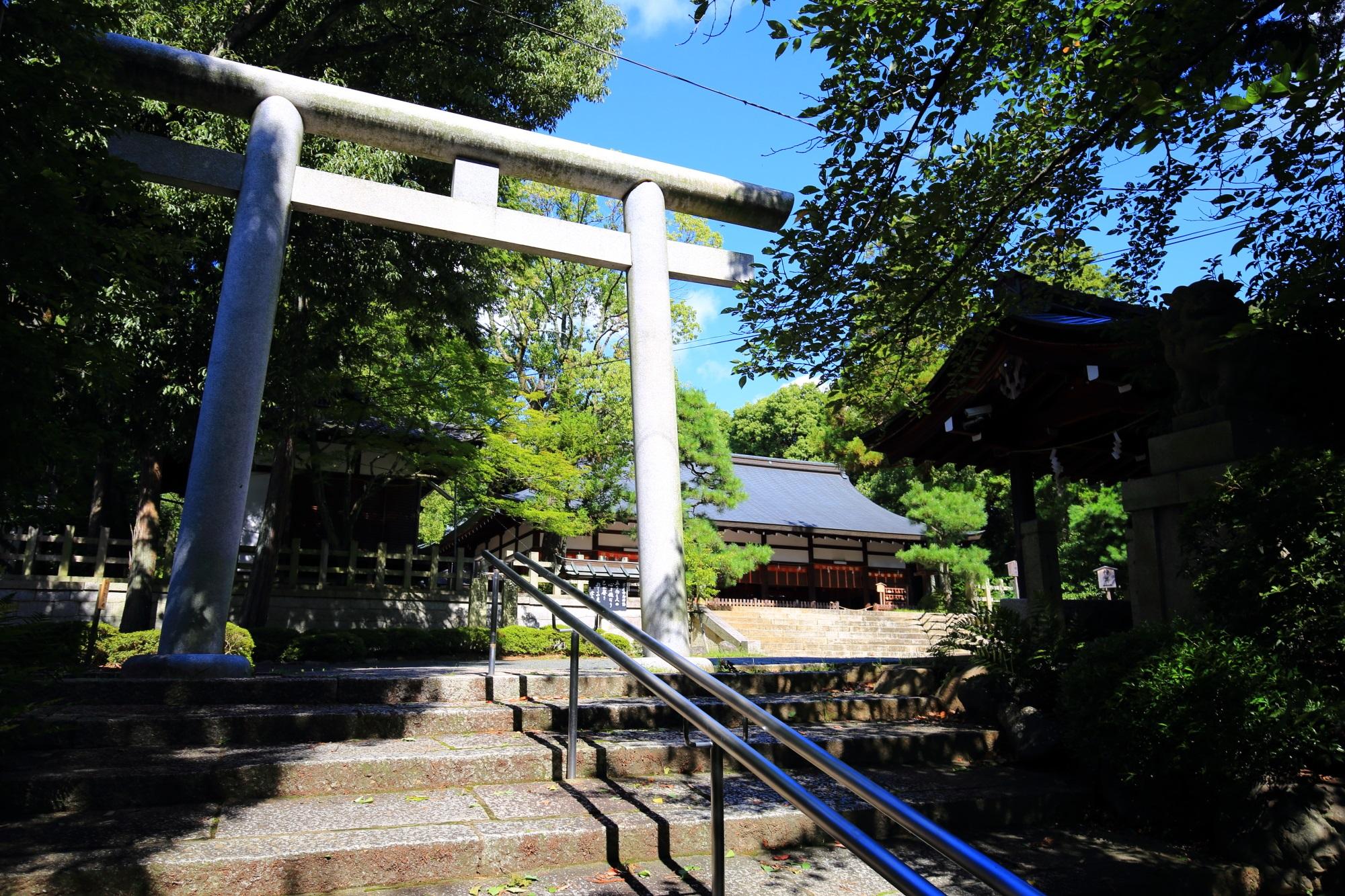 宗忠神社の二ノ鳥居
