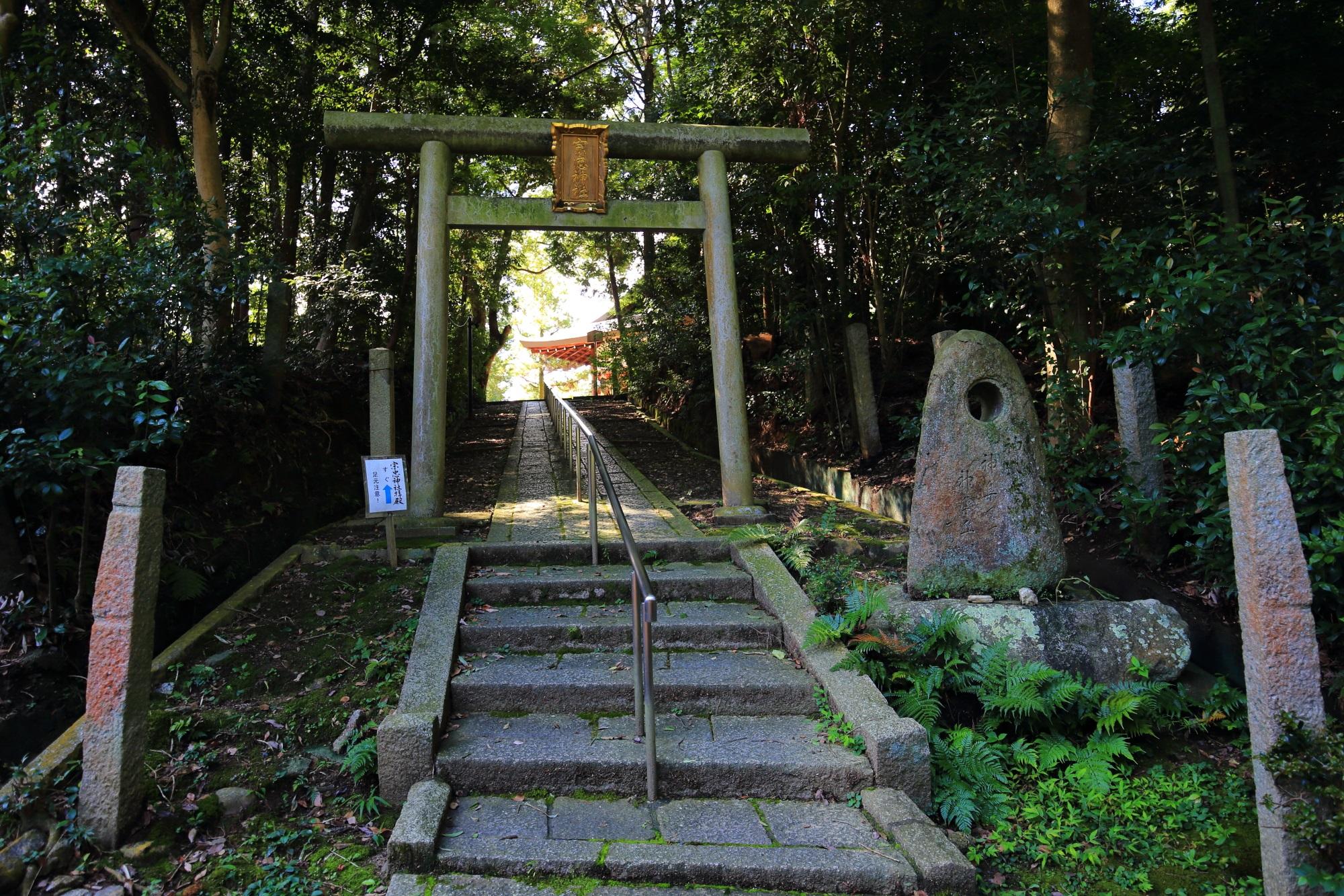 宗忠神社参道