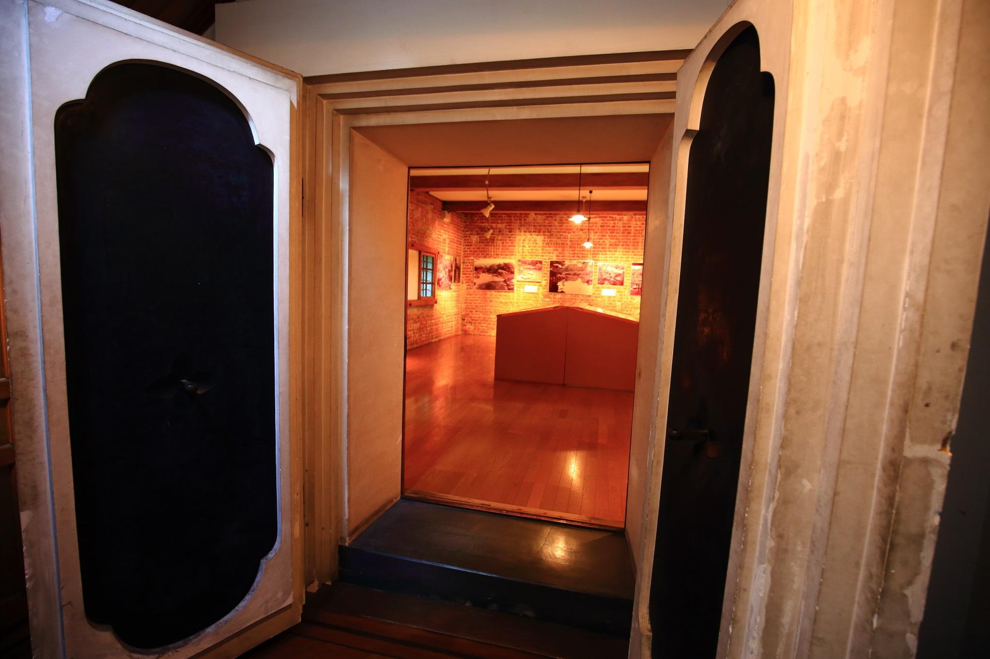 無鄰菴(むりんあん)の洋館の1階