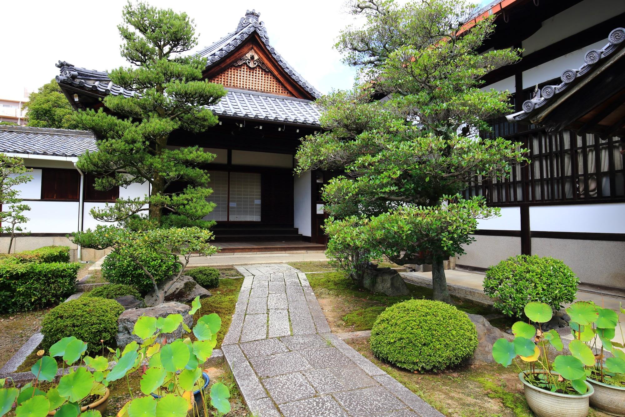 浄福寺の玄関