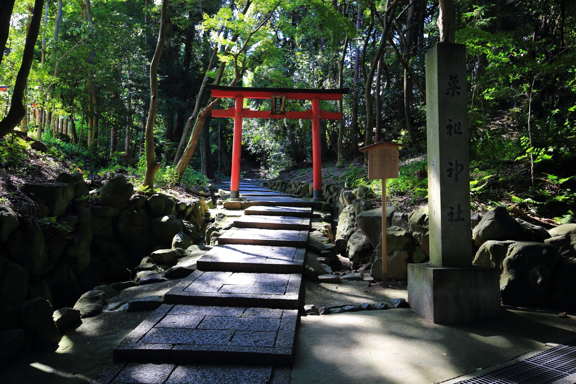 お菓子の神様の菓祖神社(かそじんじゃ)