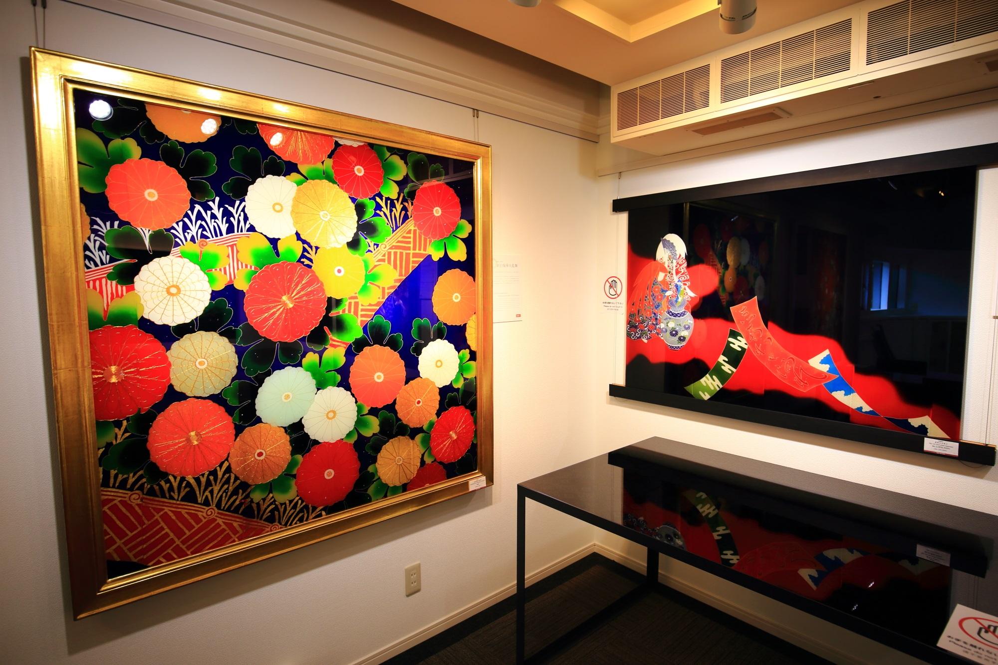 和柄 綺麗 ガラス 和硝子屋 祇園ギャラリー