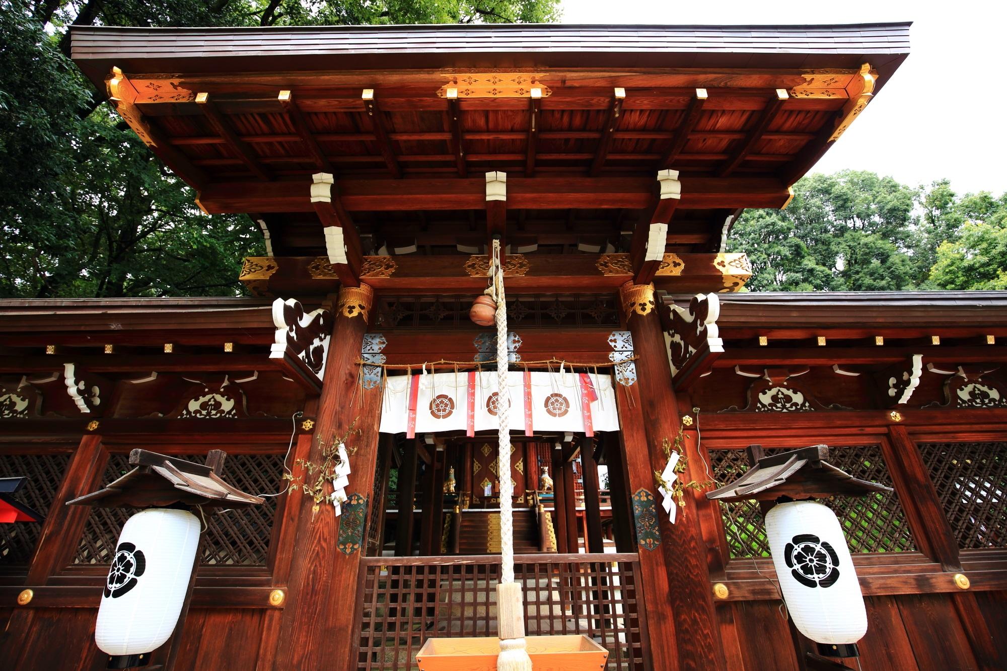 見所の多い今宮神社の疫社