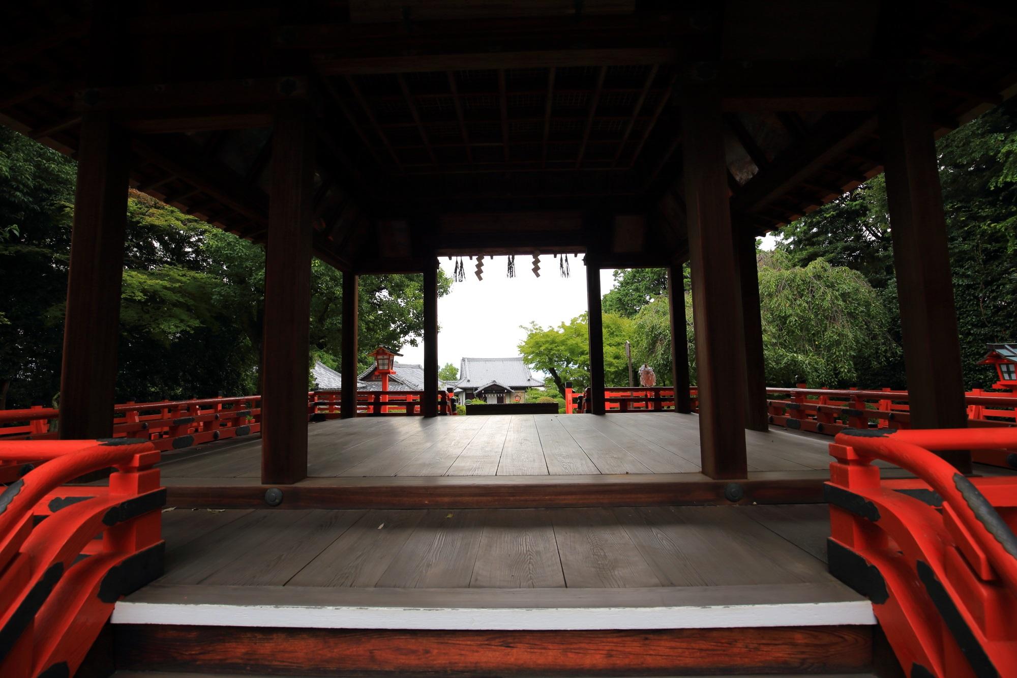 建勲神社の拝殿