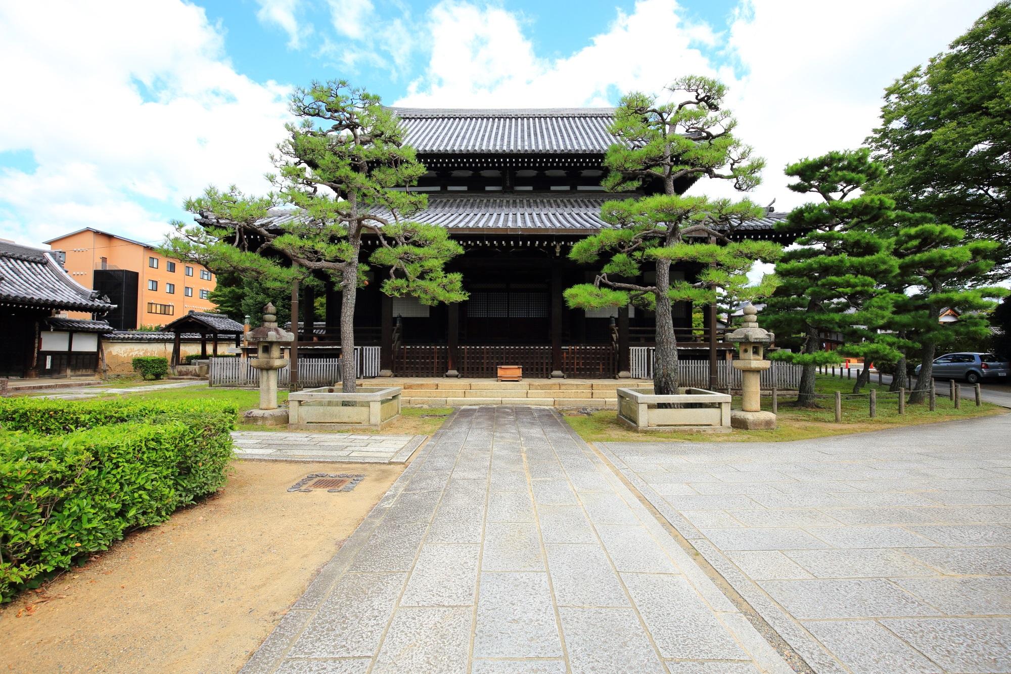 浄福寺(じょうふくじ)の本堂