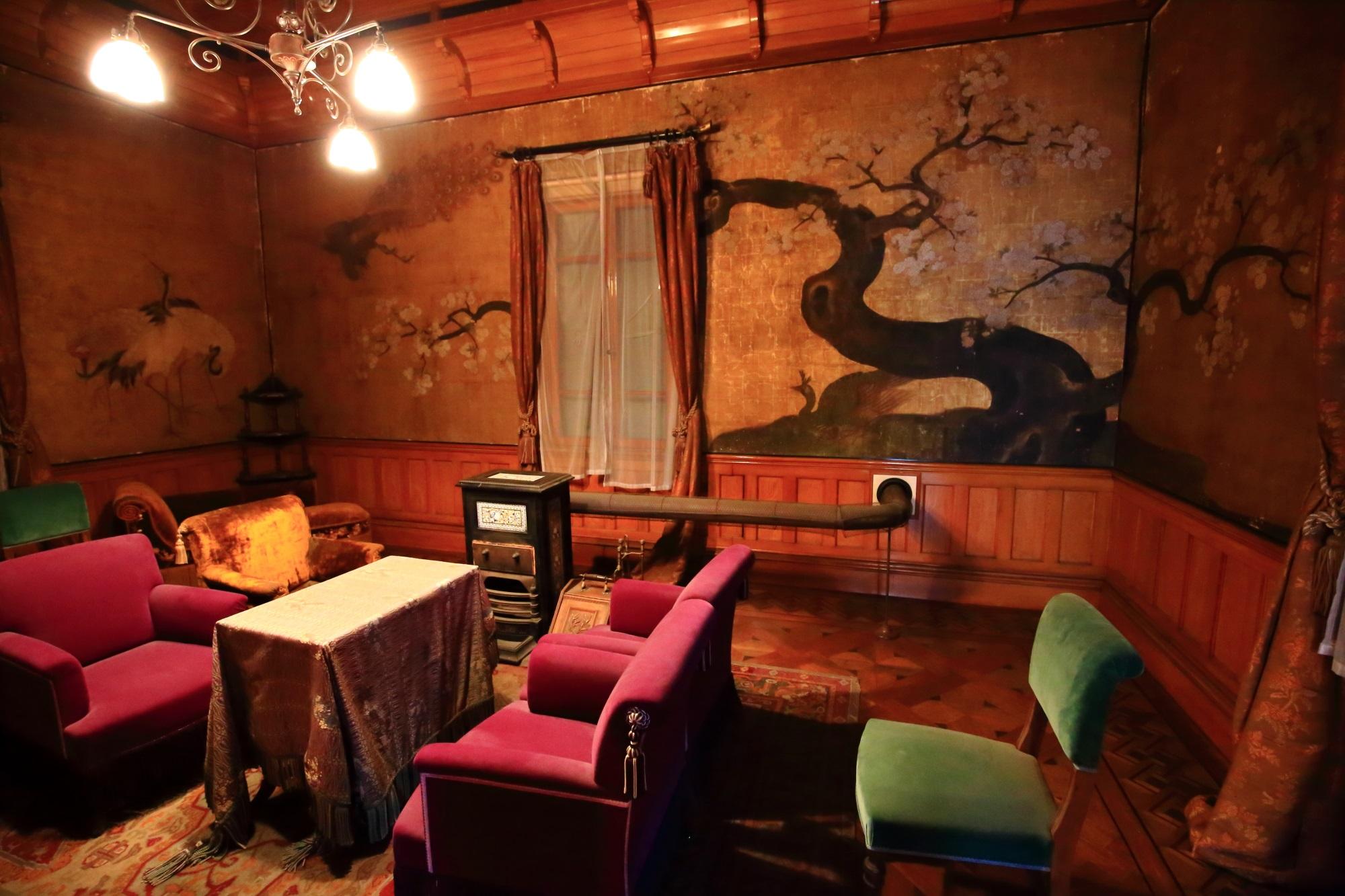 無鄰菴(むりんあん)の洋館の2階