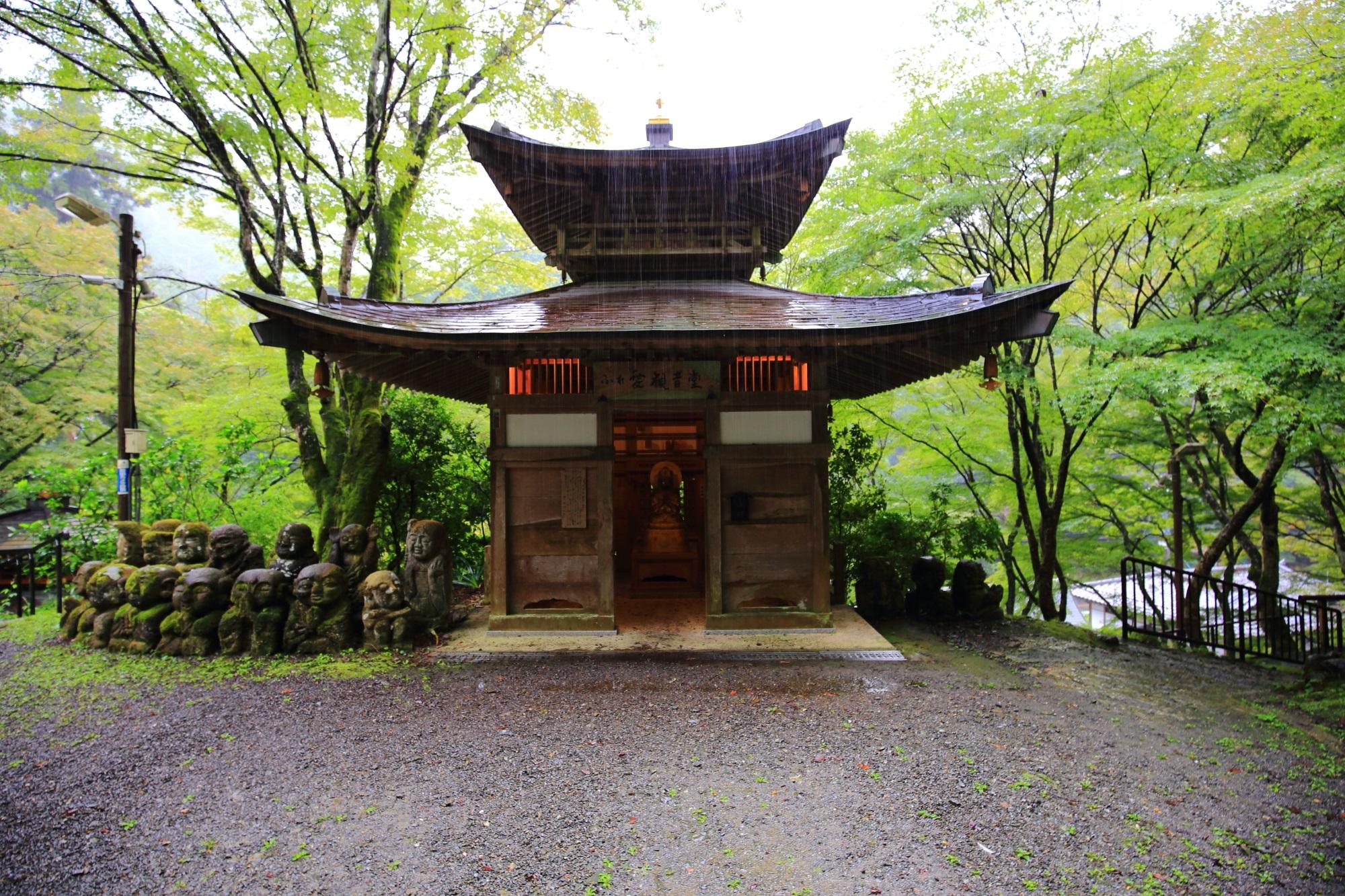 愛宕念仏寺のふれ愛観音堂