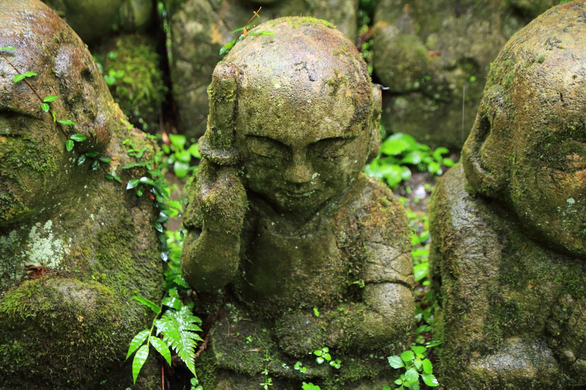 愛宕念仏寺の武士の千二百羅漢