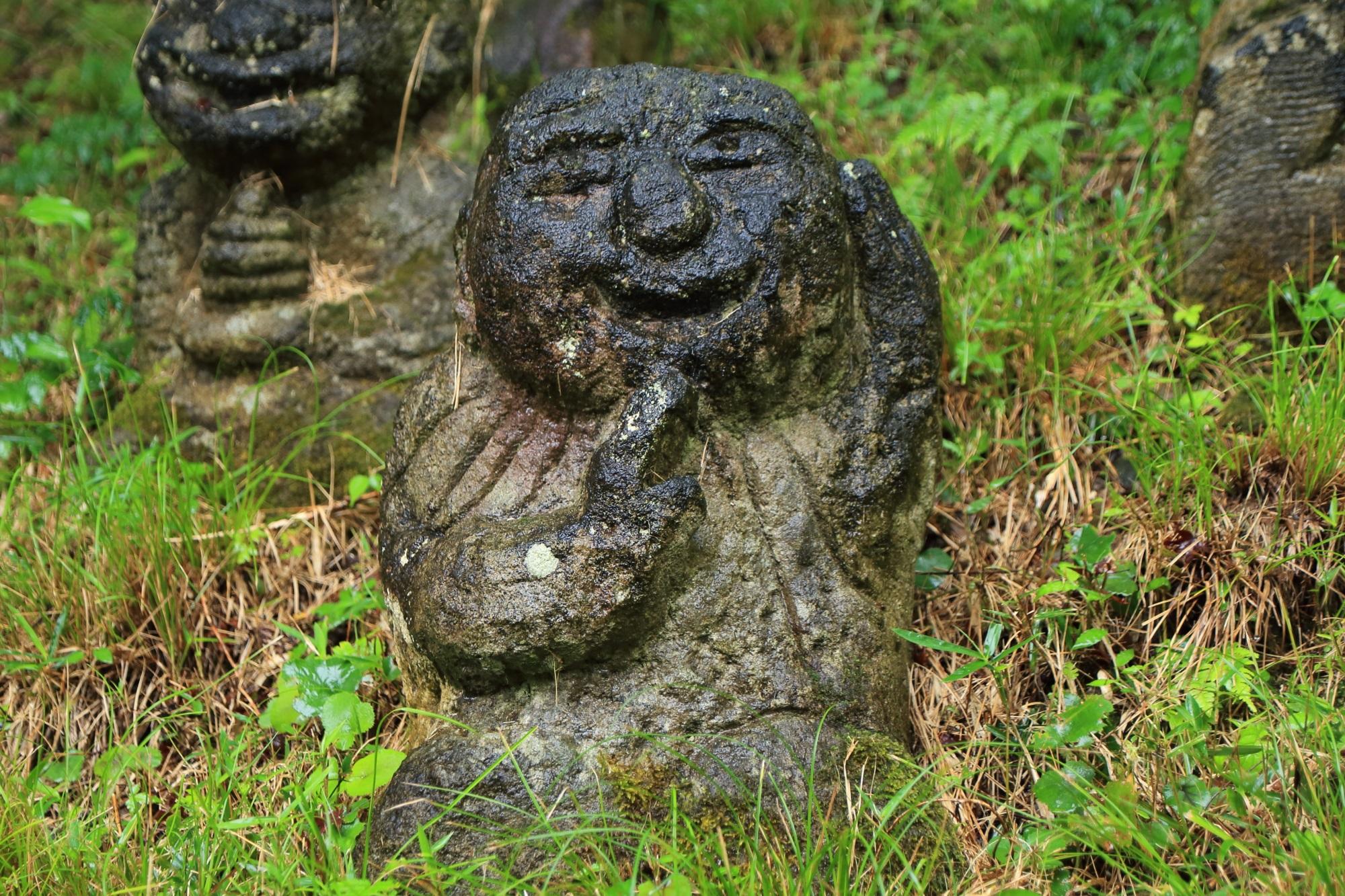 愛宕念仏寺のまいったなーの千二百羅漢